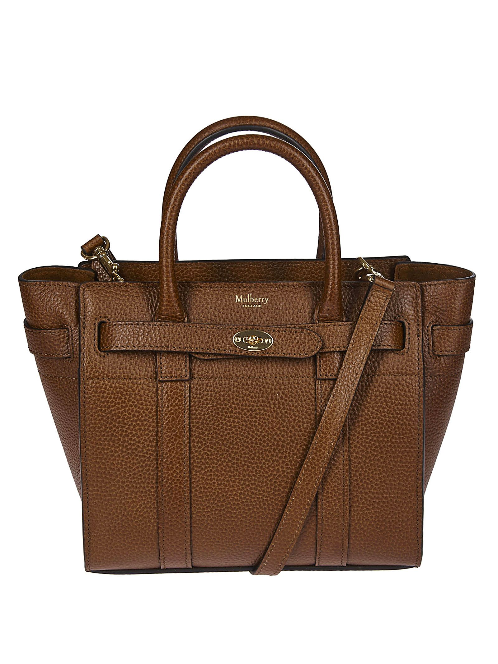 b8315f76623 Mulberry Mulberry Small Bayswater Tote - Brown - 10829645