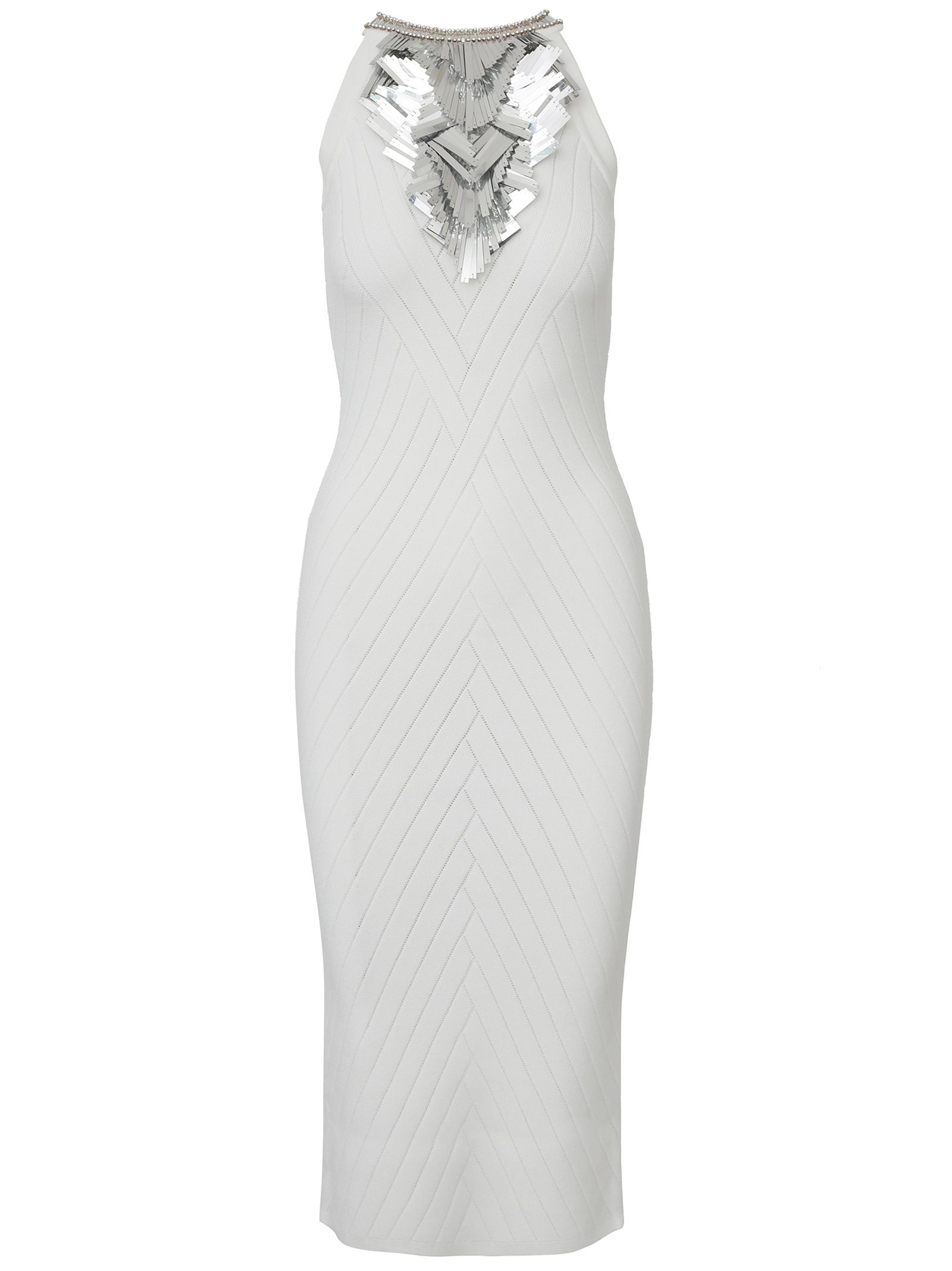 31aaeeee Balmain Balmain Paris Dress - White - 10933800 | italist