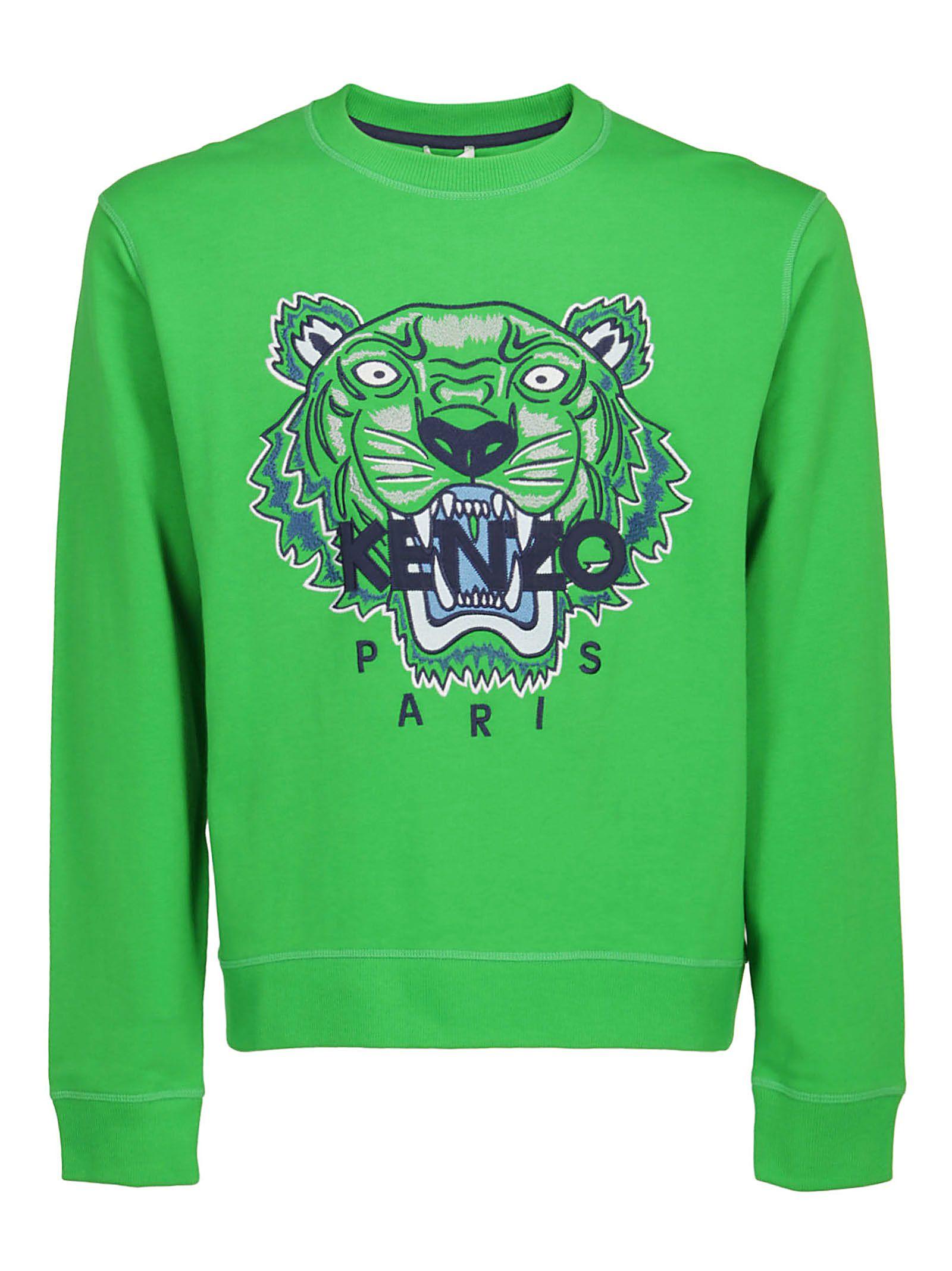a5f852844 Kenzo Kenzo Sweatshirt - Grass green - 10954968   italist