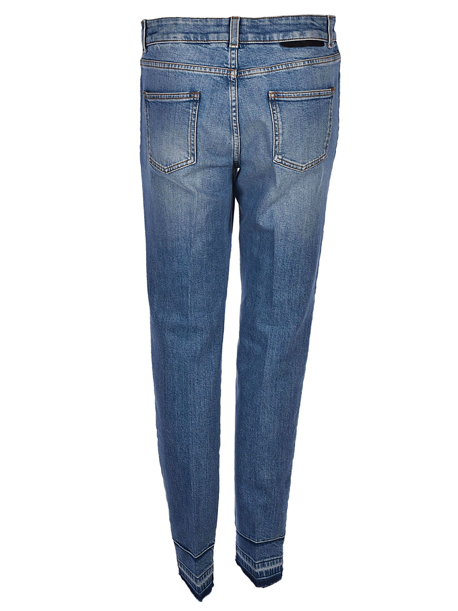 Faded Azul Skinny Stella Jeans Mccartney 6TTSq5n4