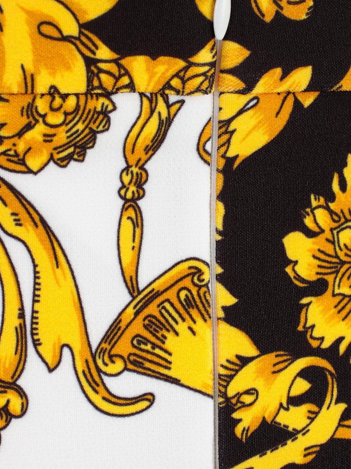 dd823965 Parosh P.a.r.o.s.h. Baroque Print Skirt - Fant Blk - 10765519   italist