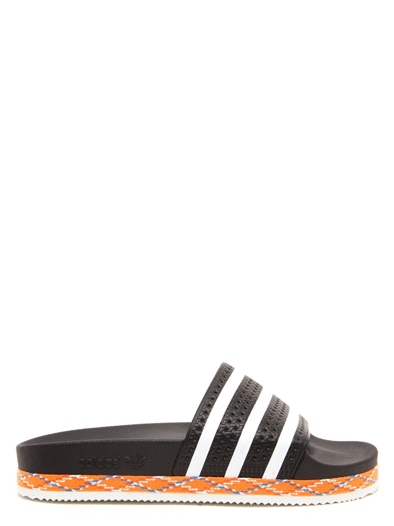 d2426267524c Adidas Originals Adidas Originals  adilette New Bold  Shoes - Black ...