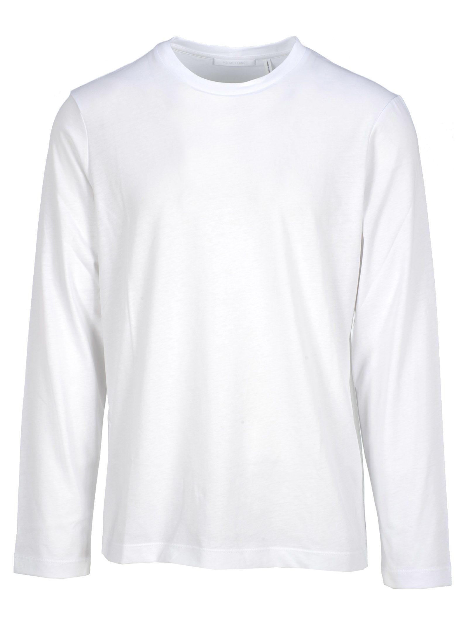 77d6c4a2 Helmut Lang Helmut Lang Helmut Lang Logo Print Long-sleeve T-shirt ...