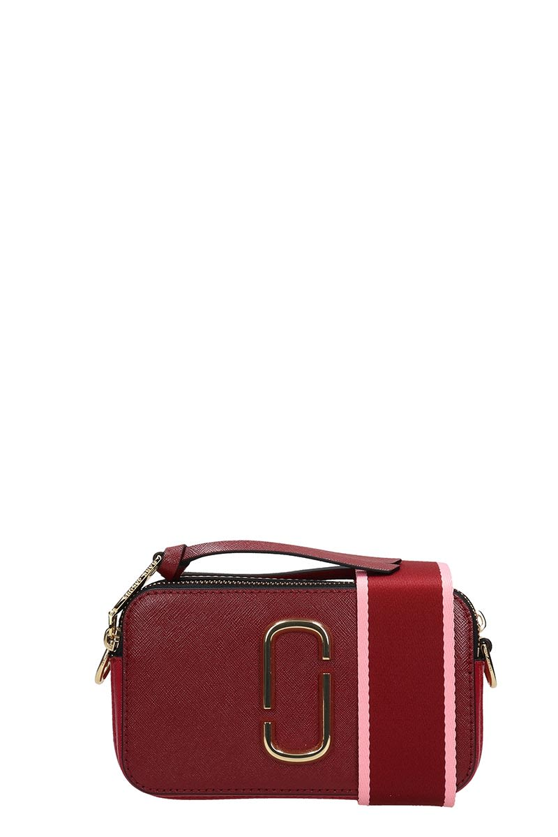 4c08caeebc Marc Jacobs Marc Jacobs Logo Strap Snapshot Small Camera Bag - red ...