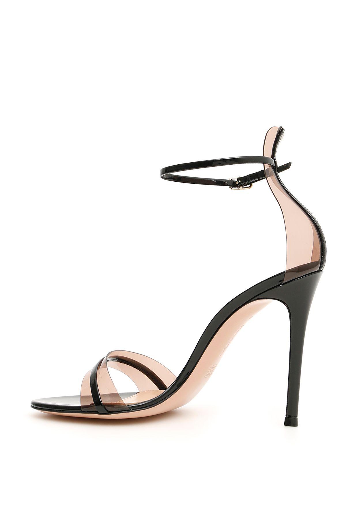 1c5df5daf Gianvito Rossi Gianvito Rossi G String 105 Sandals - BLACK BLUSH ...