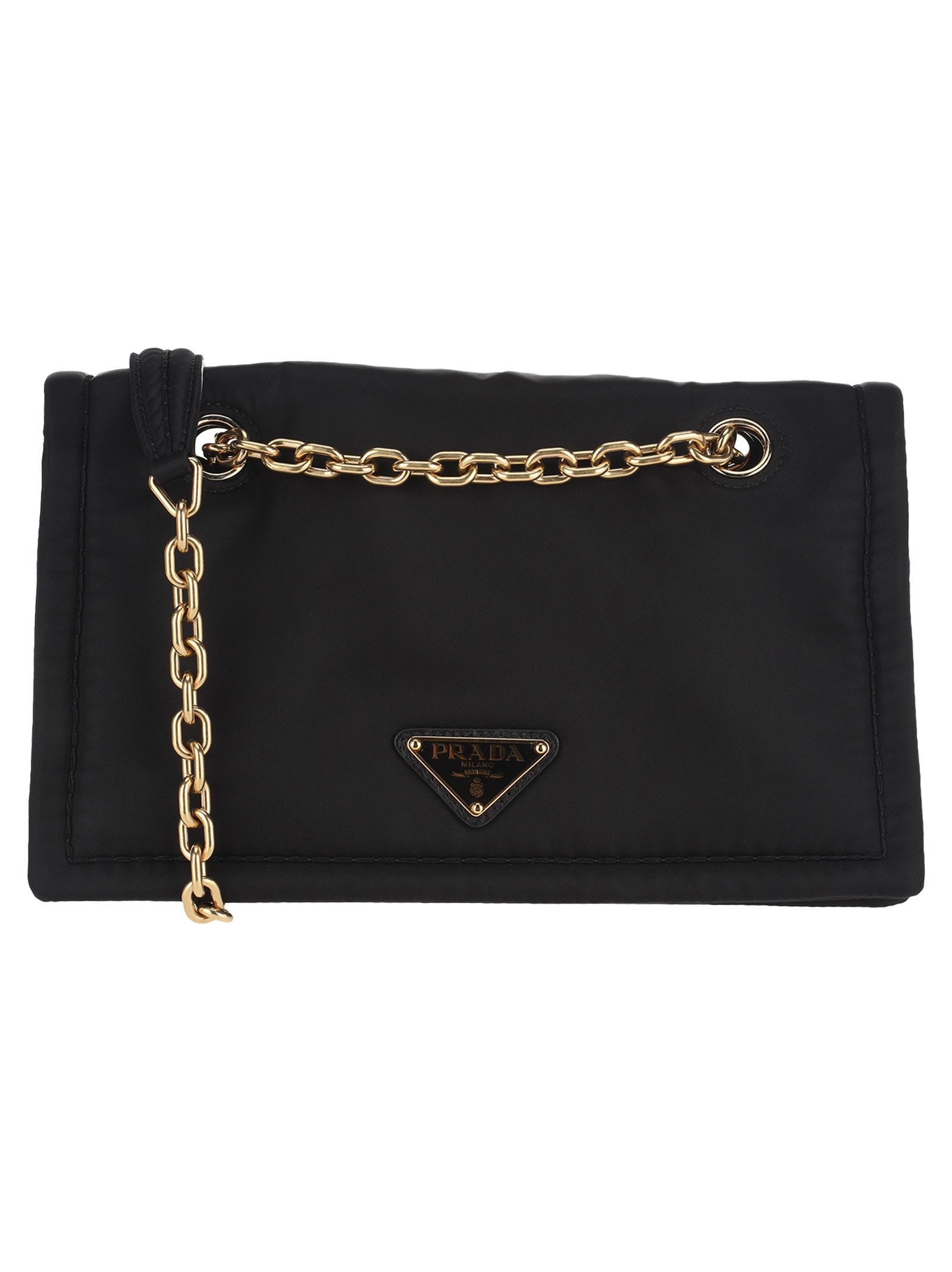 bc4dac082b34fd Prada Prada Nylon Shoulder Bag - BLACK - 10967228   italist