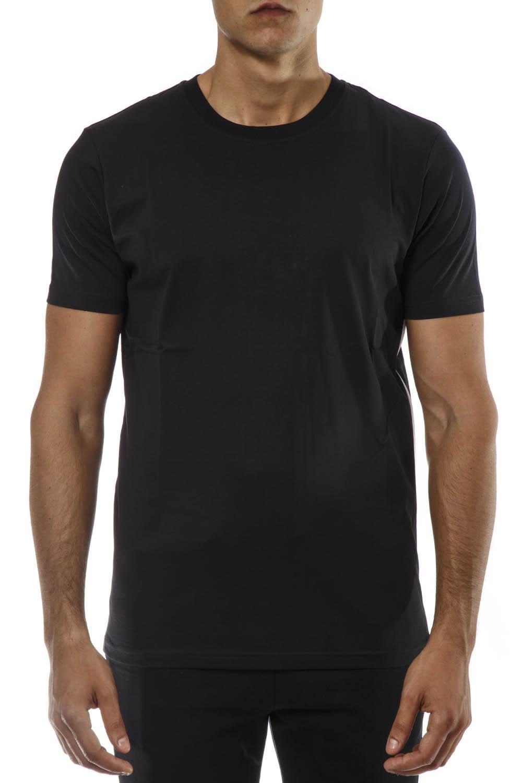 dd7a9f99afd Versus Versace Versus Versace Black Cotton Logo Zip T-shirt - Black ...