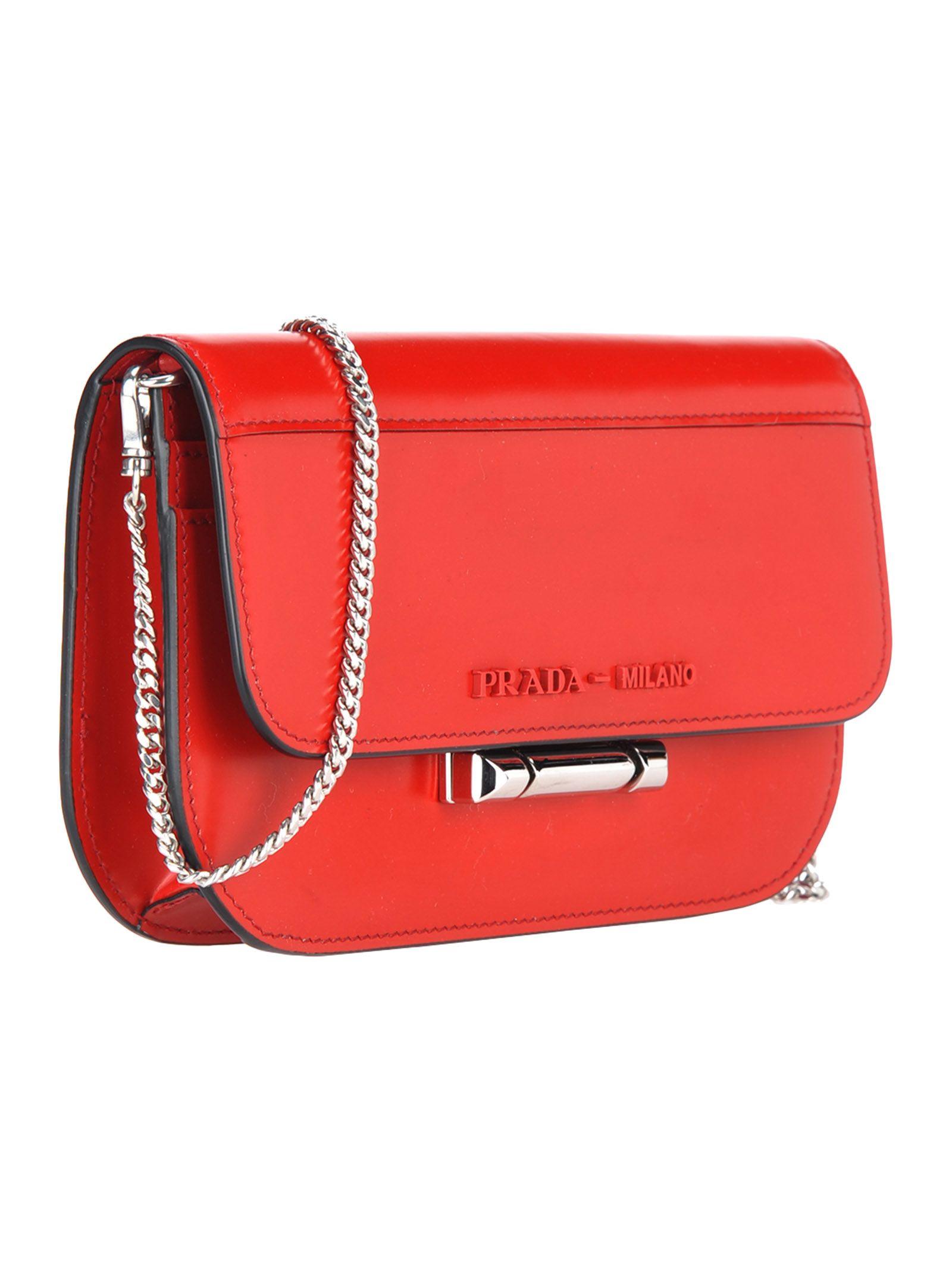 3ccdd18c69 Prada Mini Bag - Red Prada Mini Bag - Red ...