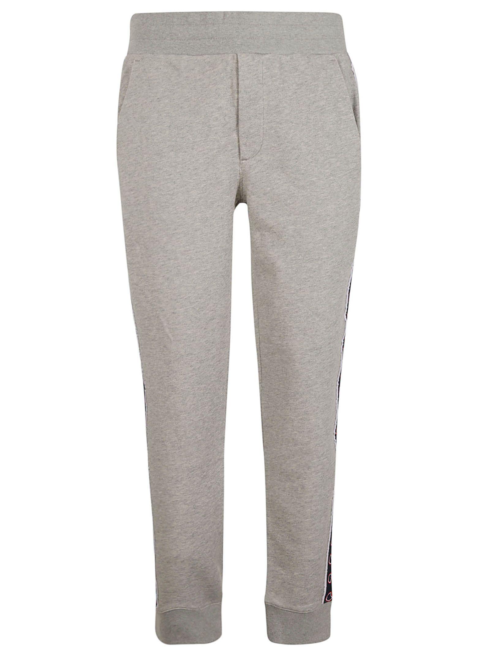 10d5ce8ac9ec75 Moncler Moncler Side Logo Track Pants - Grey - 10847567   italist