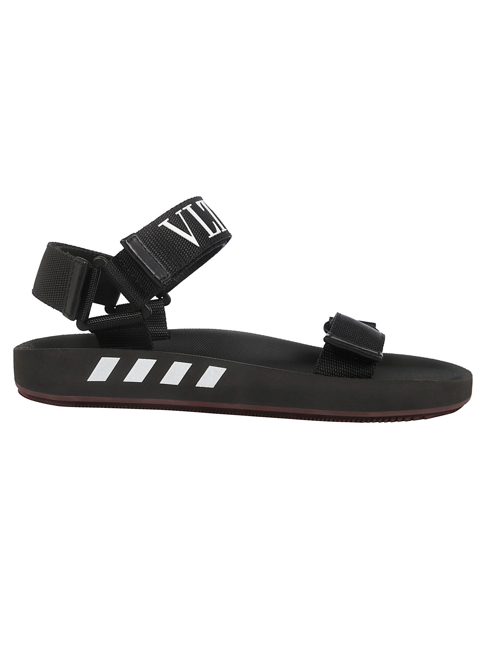 50043a8116e1 Valentino Valentino Vltn Sandals - Ni Nero Bianco - 10796719