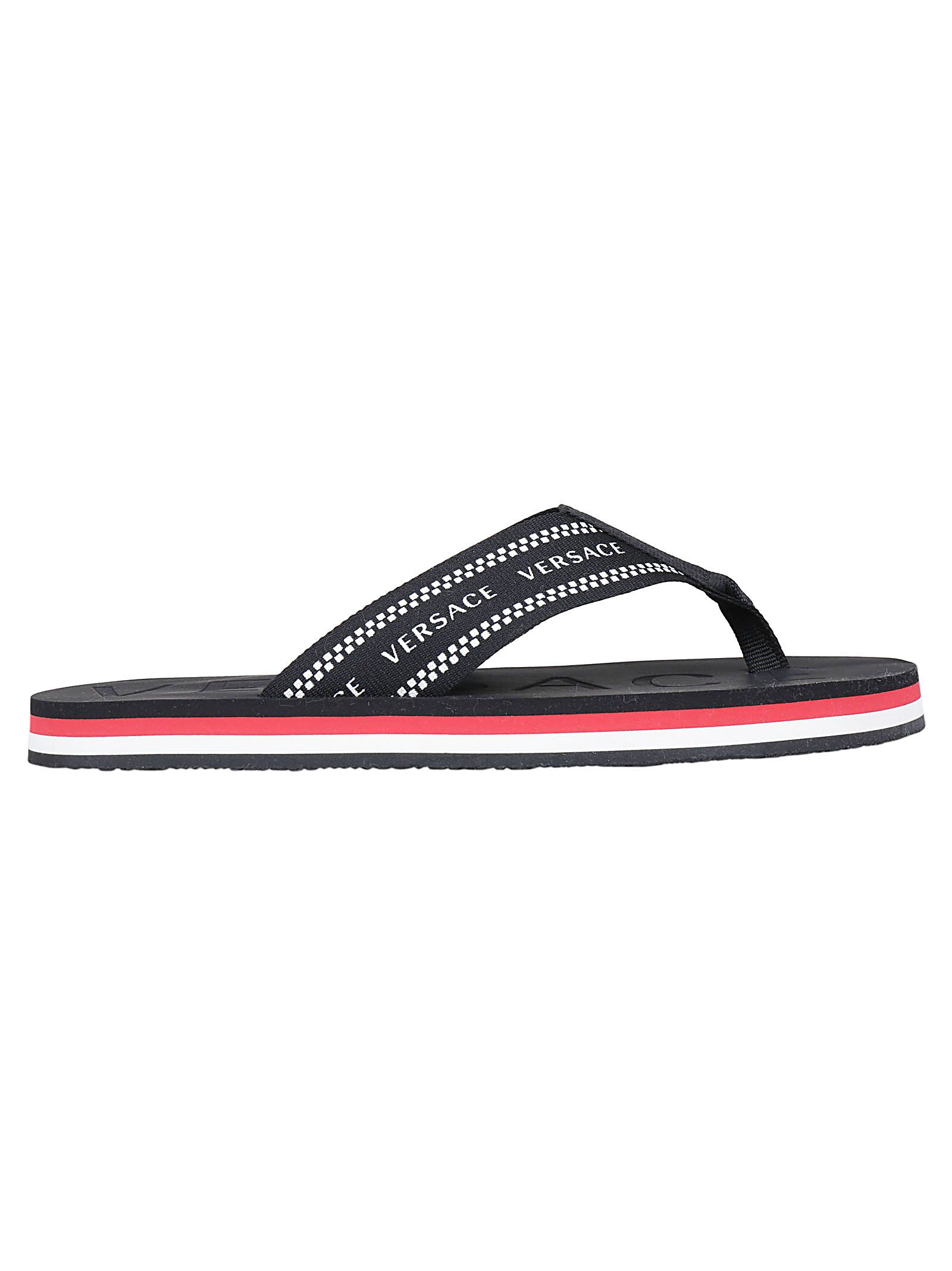 c53ea12ce Versace Versace Sandals - Multi rosso - 10785913