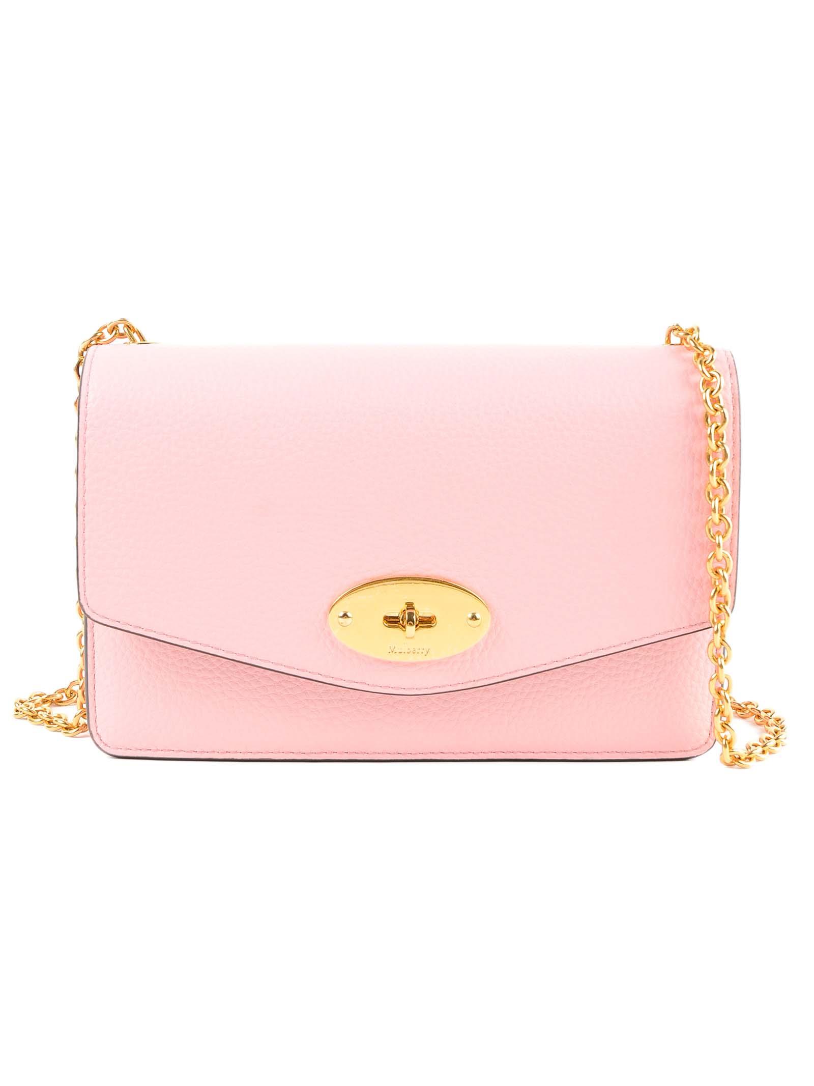 ea456984dd Mulberry Mulberry Chain Twist-lock Shoulder Bag - Sorbet Pink ...