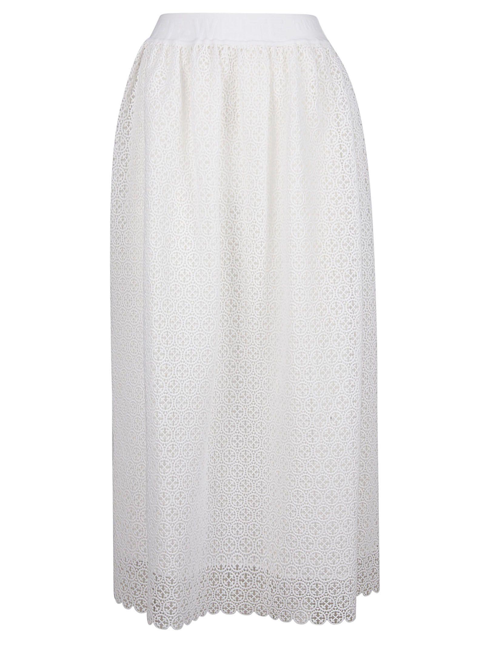 dd631c6897 Off-White Off-white A-line Skirt - White No Color - 10917645 | italist