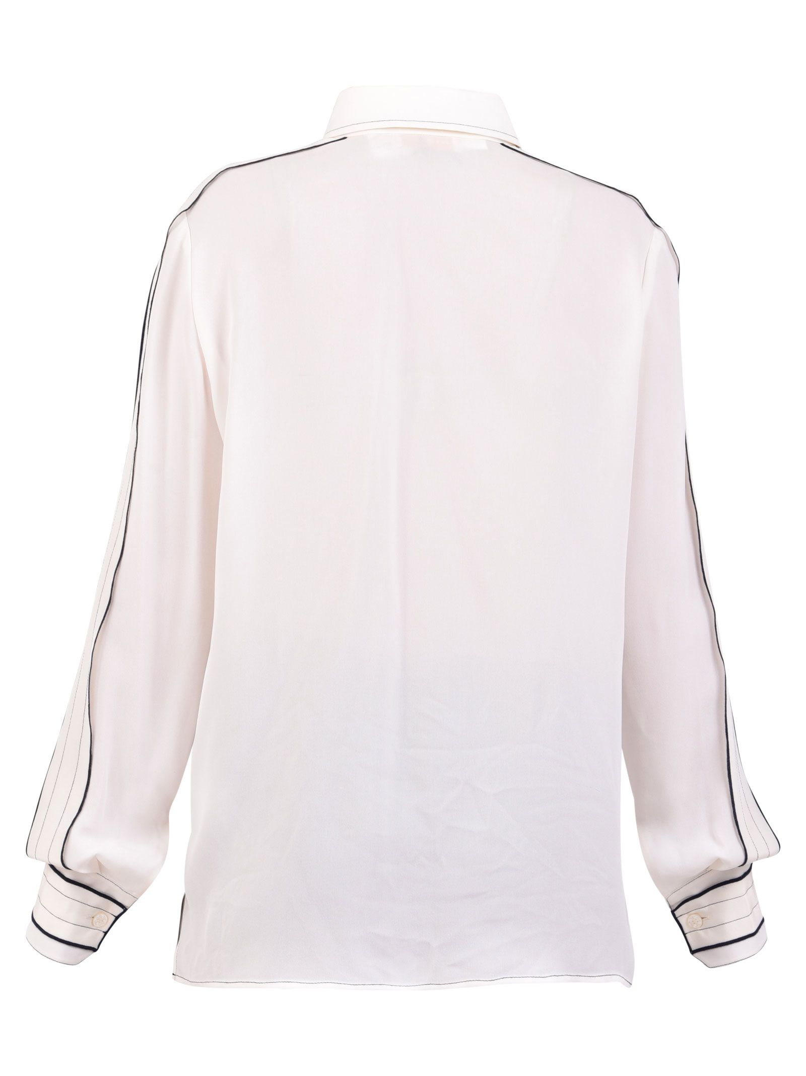 cb1fd65595906 Tory Burch Tory Burch Silk Shirt - White - 10851556