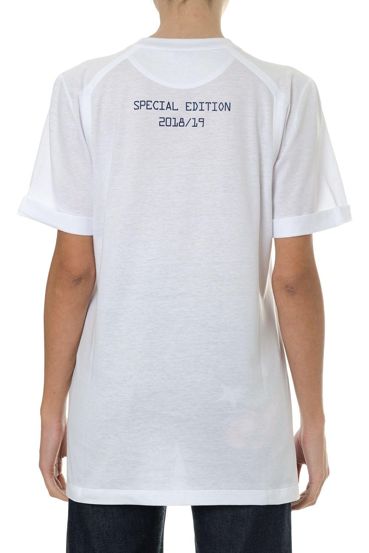 1c3f8bef Fendi Fendi Fendi Roma White Cotton T-shirt - White - 10824066 | italist