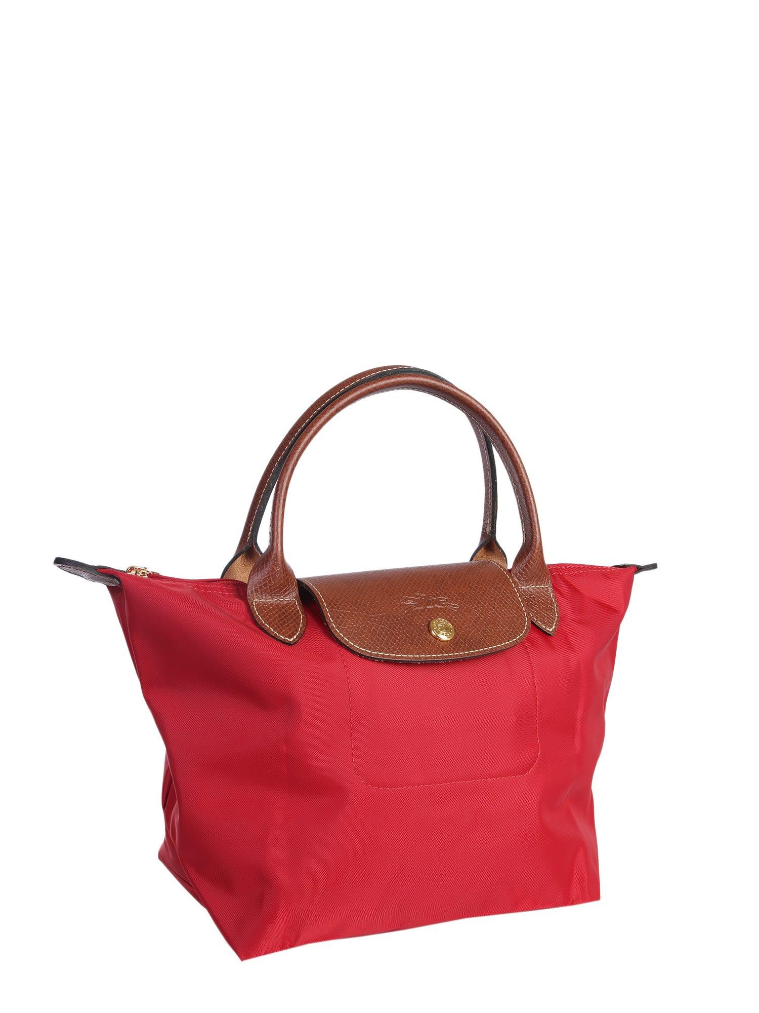 f36489ca10688 Small Le 10783654Italist Longchamp Bag Rosso Pliage v8nNmO0w