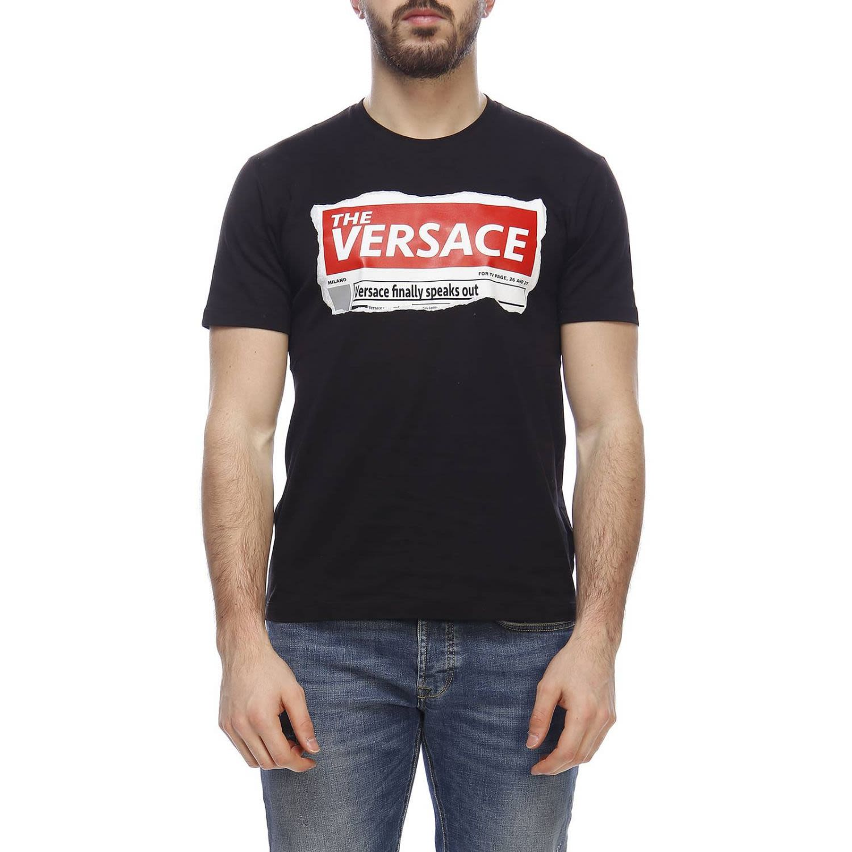 ce57fec95e7c Versace Versace T-shirt T-shirt Men Versace - black - 10798521