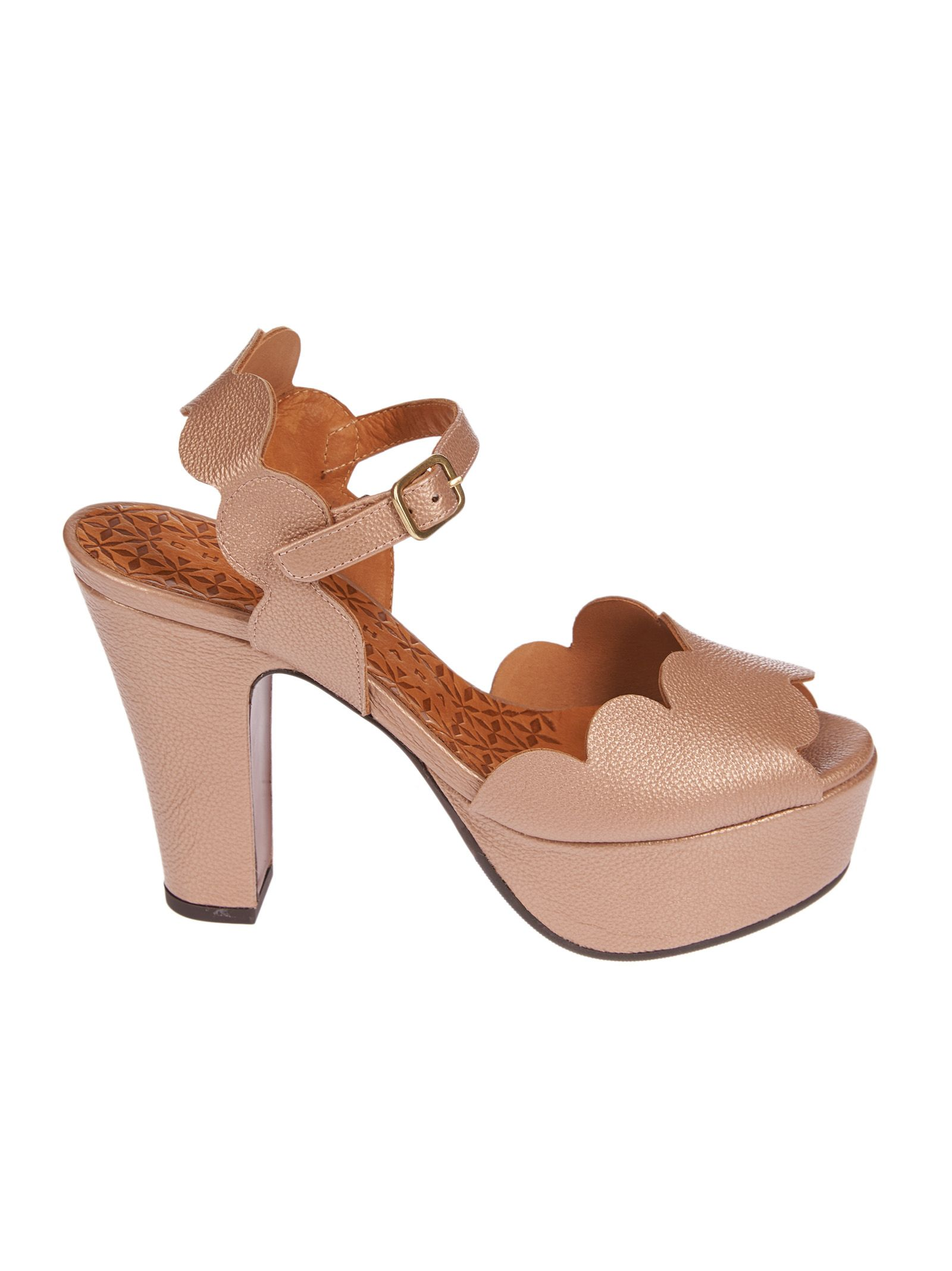 8550ccd656a Chie Mihara Chie Mihara Xevo Platform Sandals - Nude - 10532953 ...