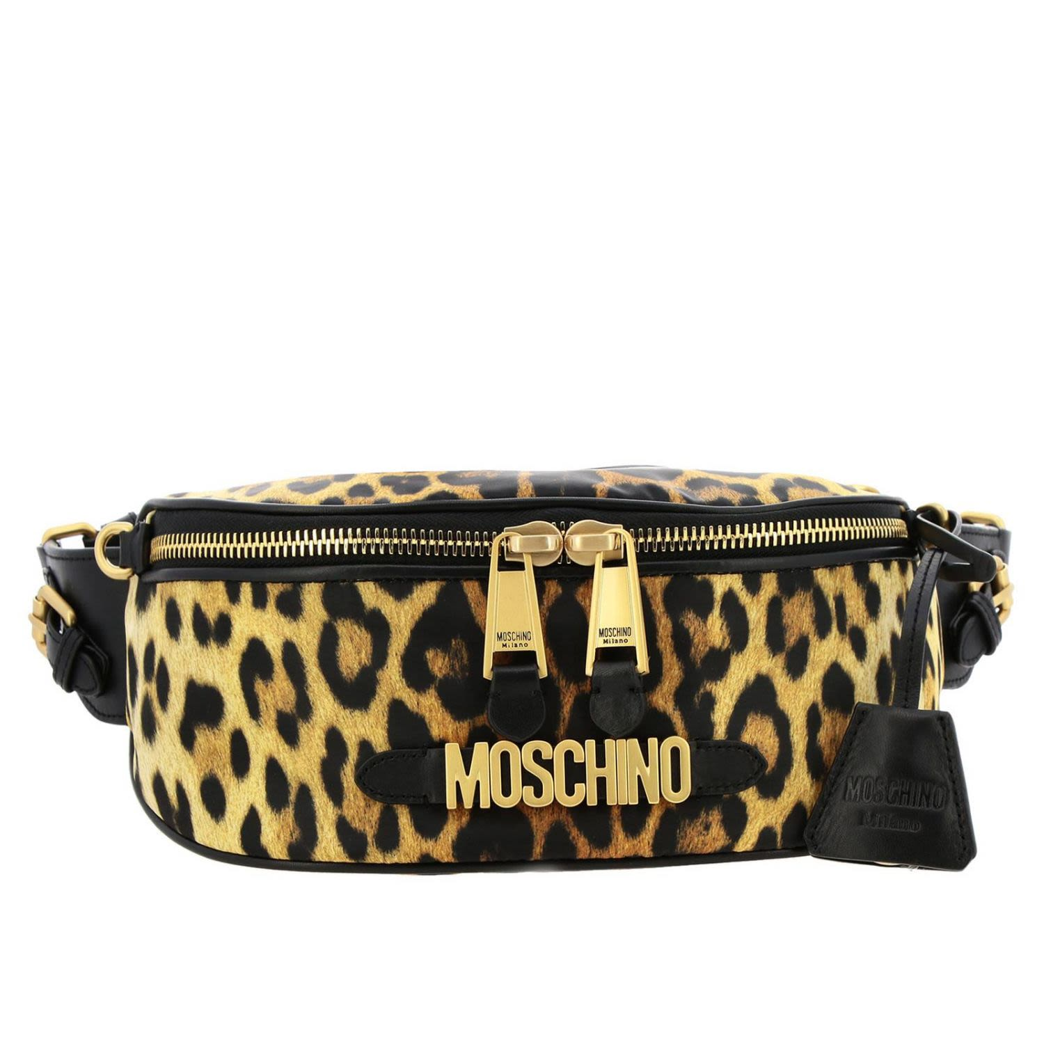 8b689045543 Moschino Couture Belt Bag Shoulder Bag Women Moschino Couture - beige ...