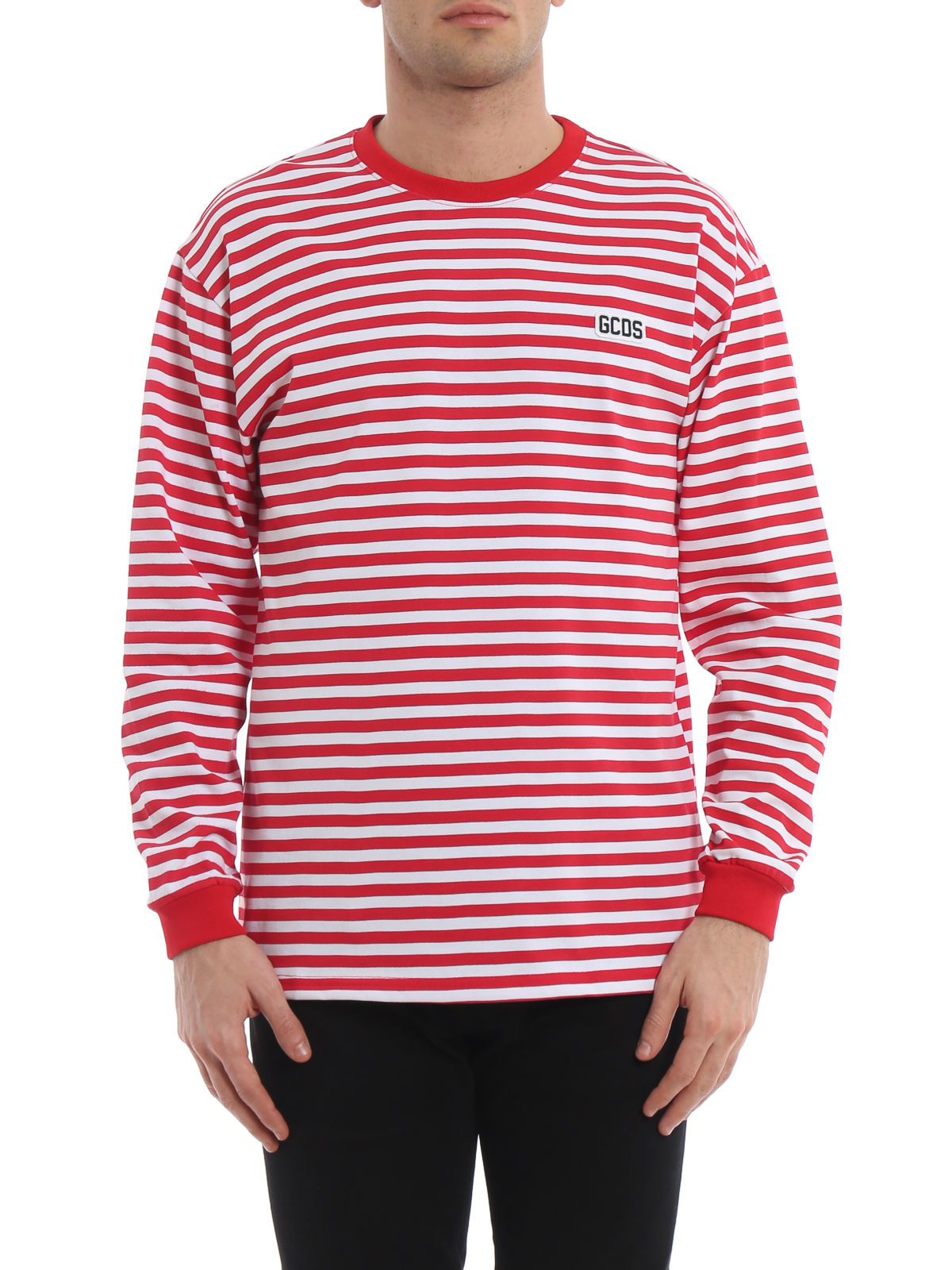 35f3baea9c GCDS GCDS Striped T-shirt - Red - 10841664 | italist