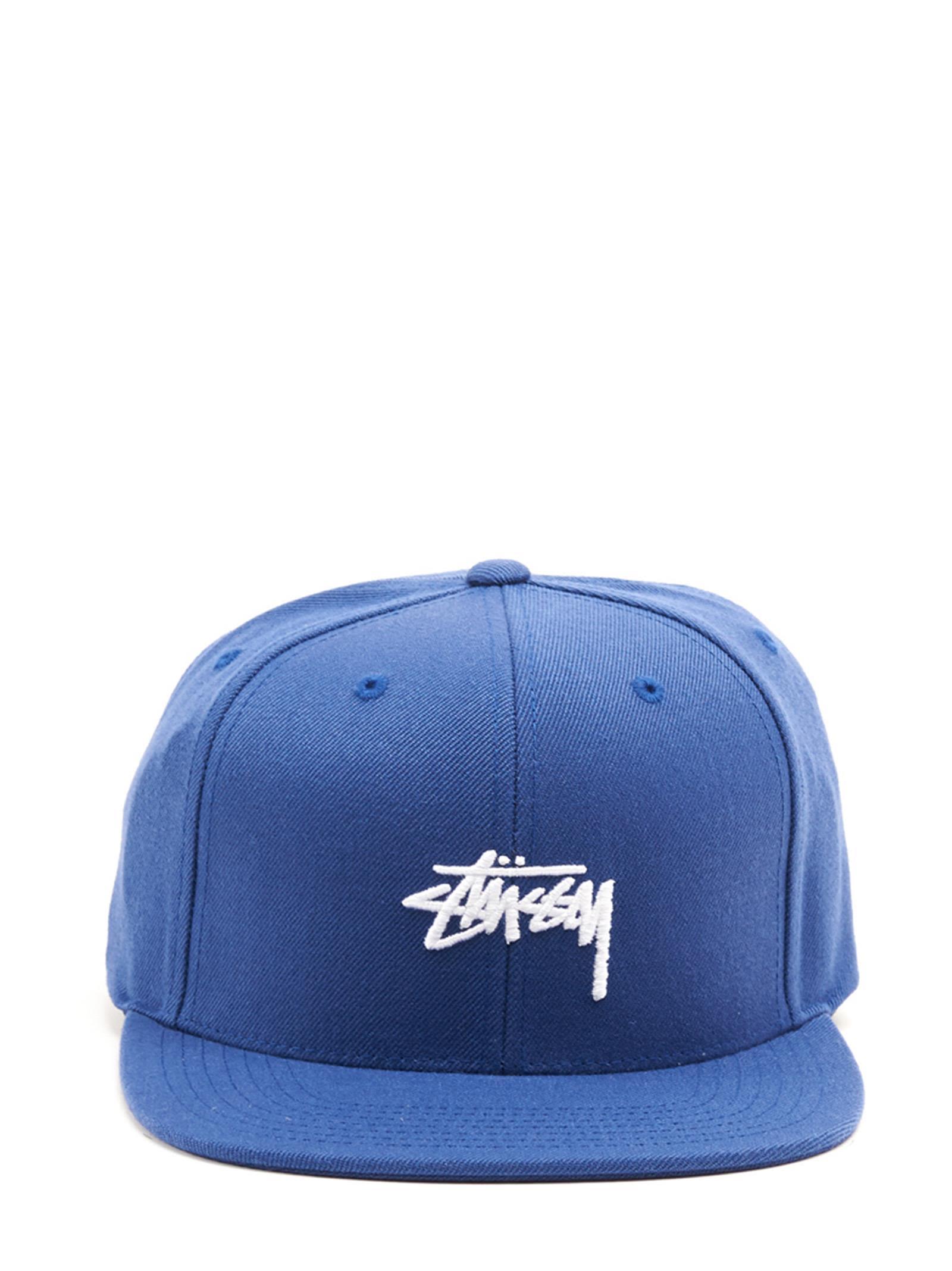 Stussy Stussy Cap - Blue - 10749685  57dd46d565f