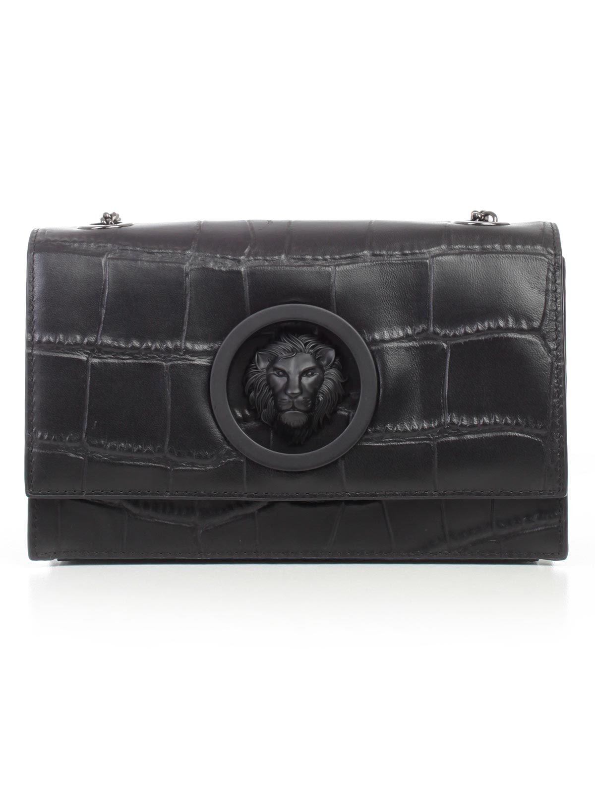 1f0c0bfa48c7 Versus Versace Versus Versace Lion Embossed Shoulder Bag - Basic ...