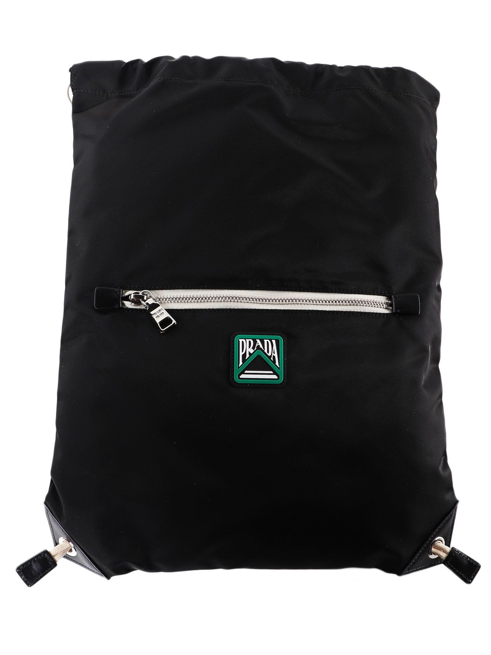 aabbf1f205f7 Prada Prada Drawstring Backpack - Nero - 10795373 | italist