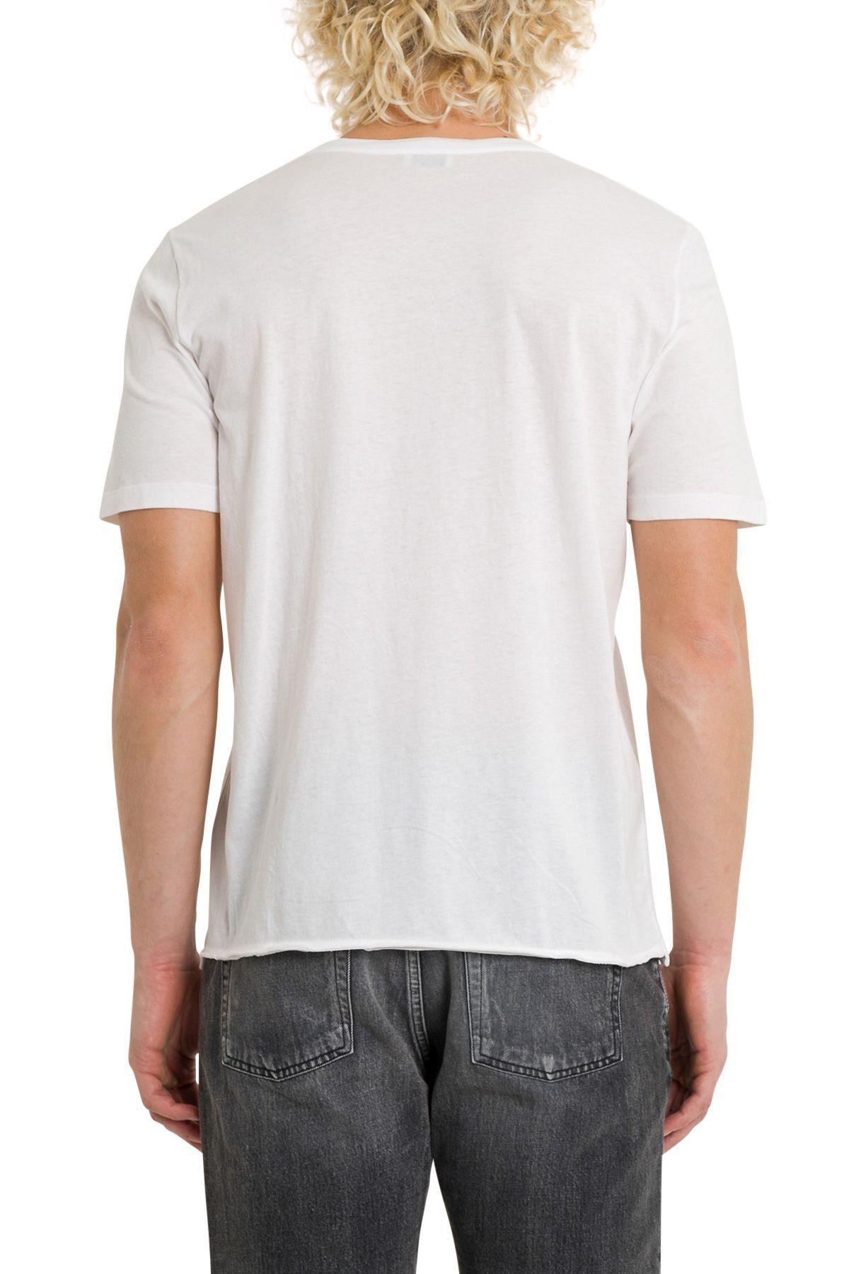 saint laurent saint laurent t shirt with logo animalier. Black Bedroom Furniture Sets. Home Design Ideas