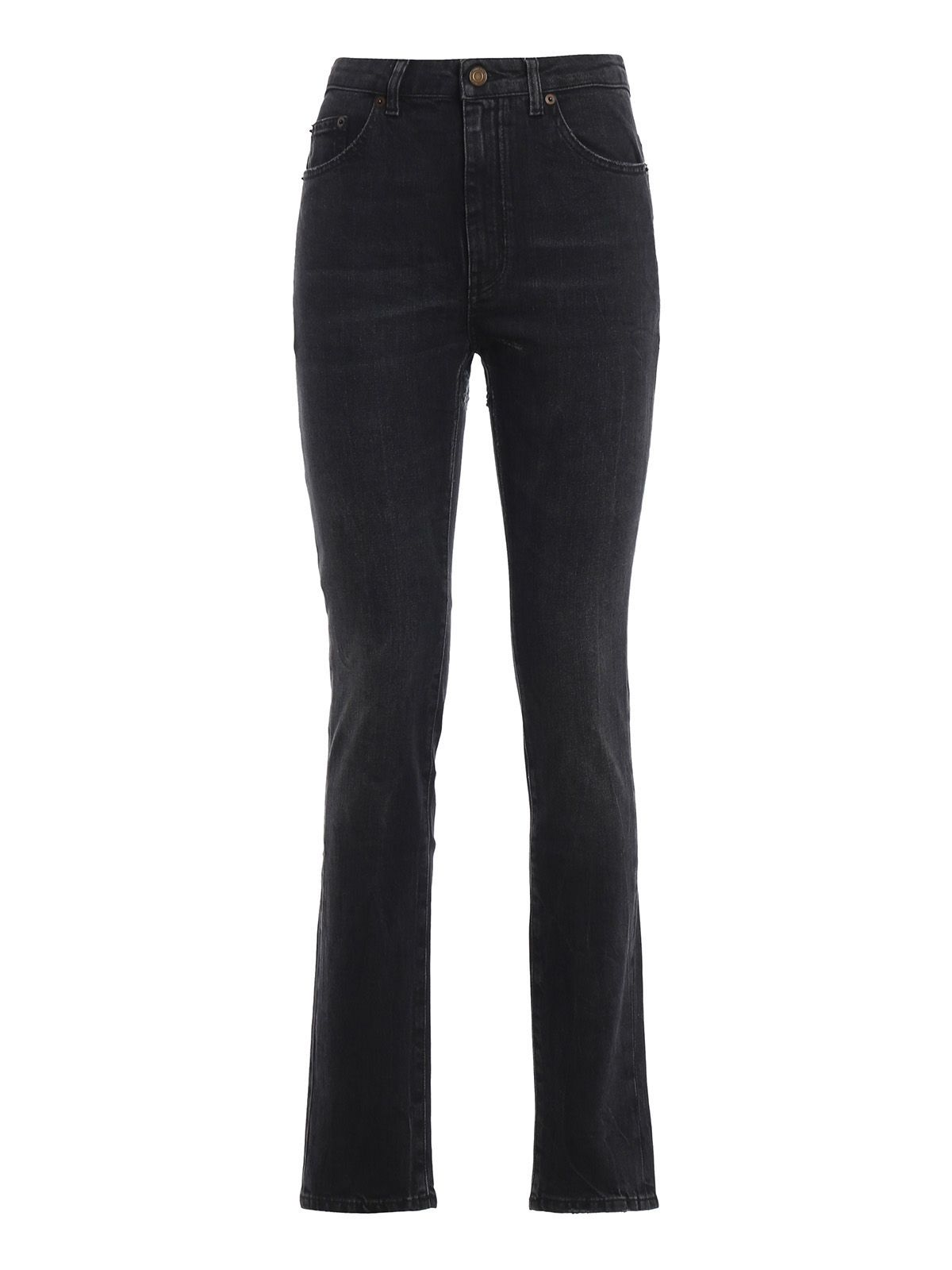 0c3a4c45073 Saint Laurent Saint Laurent High Rise Skinny Jeans - Vintage Dark ...