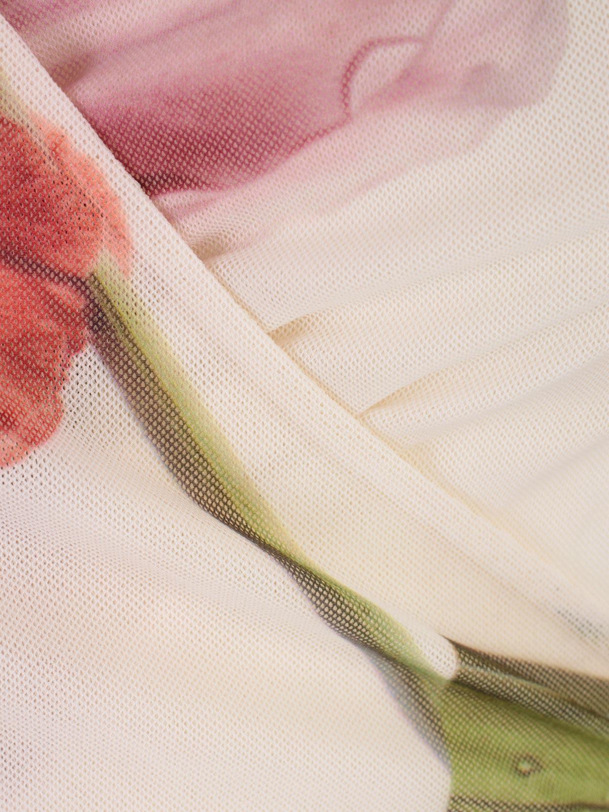27894a0667 Ganni Ganni Floral Wrap Dress - Bright White - 10904792