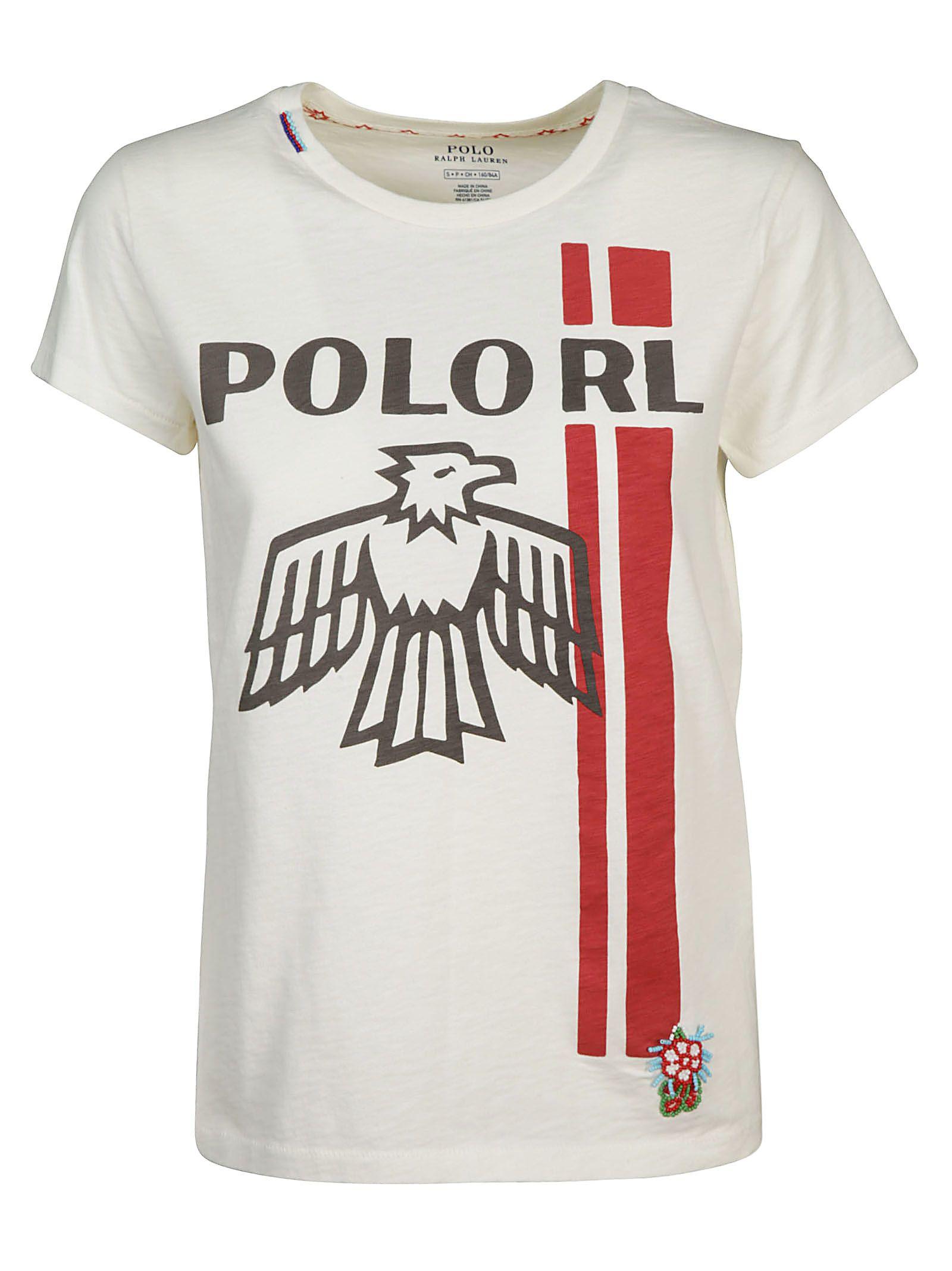 Ralph Lauren Ralph Lauren Printed T Shirt White 10640584 Italist