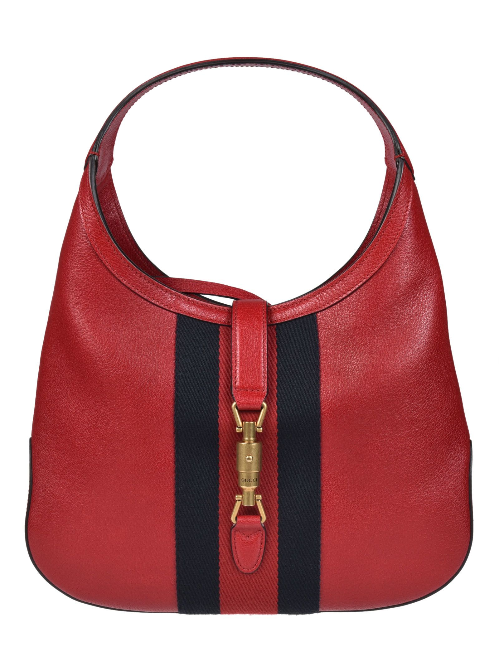 31b25037383a Gucci Gucci Jackie Soft Tote - Red - 8214989 | italist