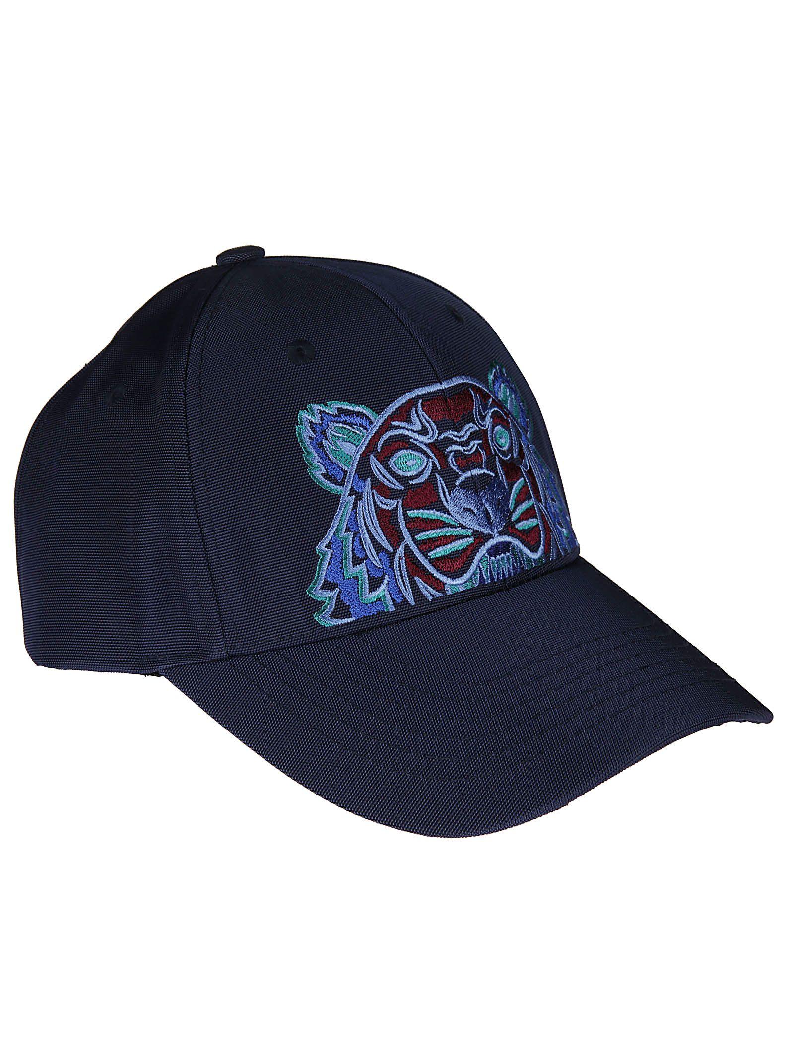 696a4e9073a Kenzo Kenzo Tiger Canvas Cap - Blue - 10676517