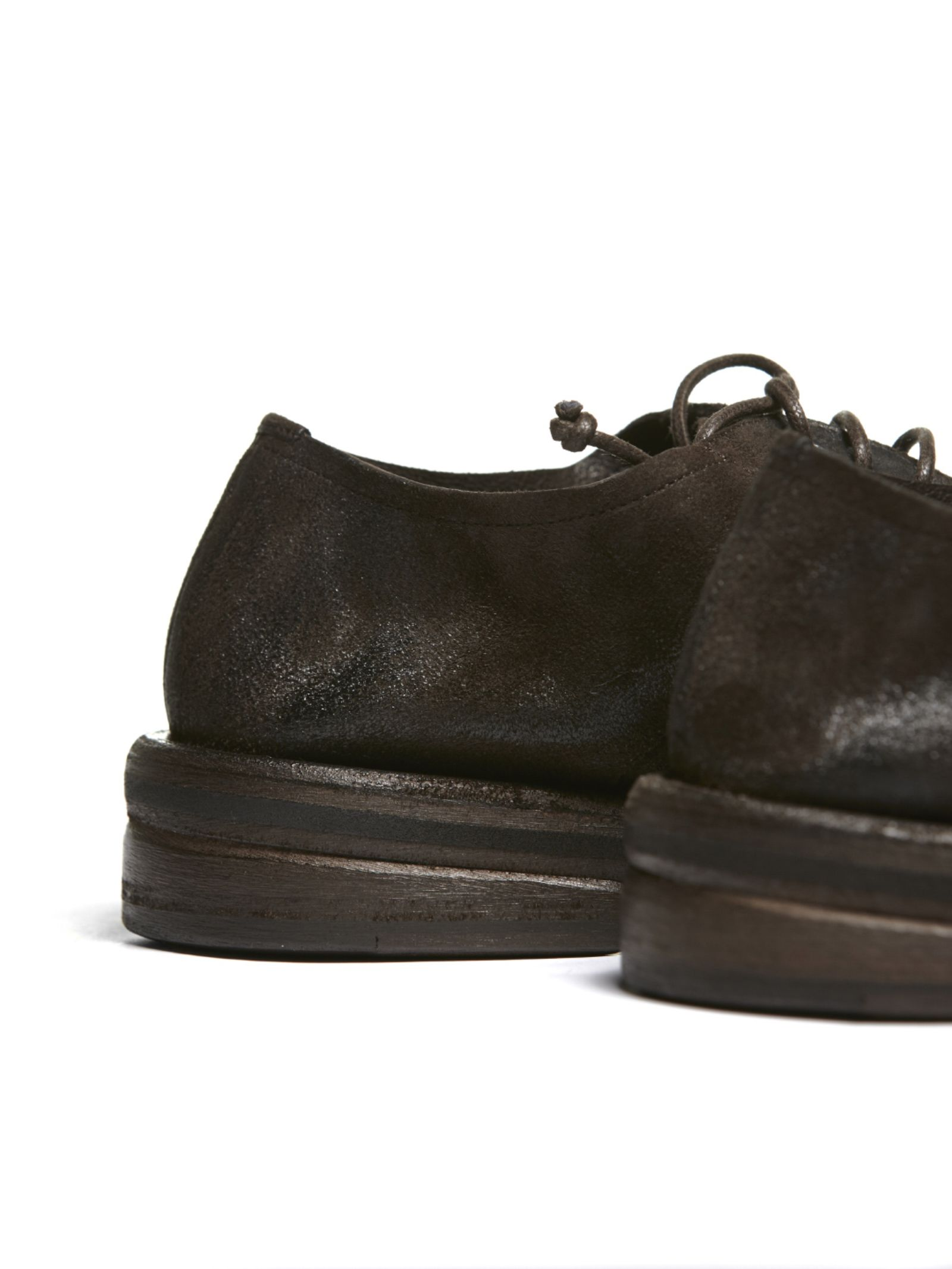 Marsell Marsell Classic Lace Up Shoes - Testa di moro ...