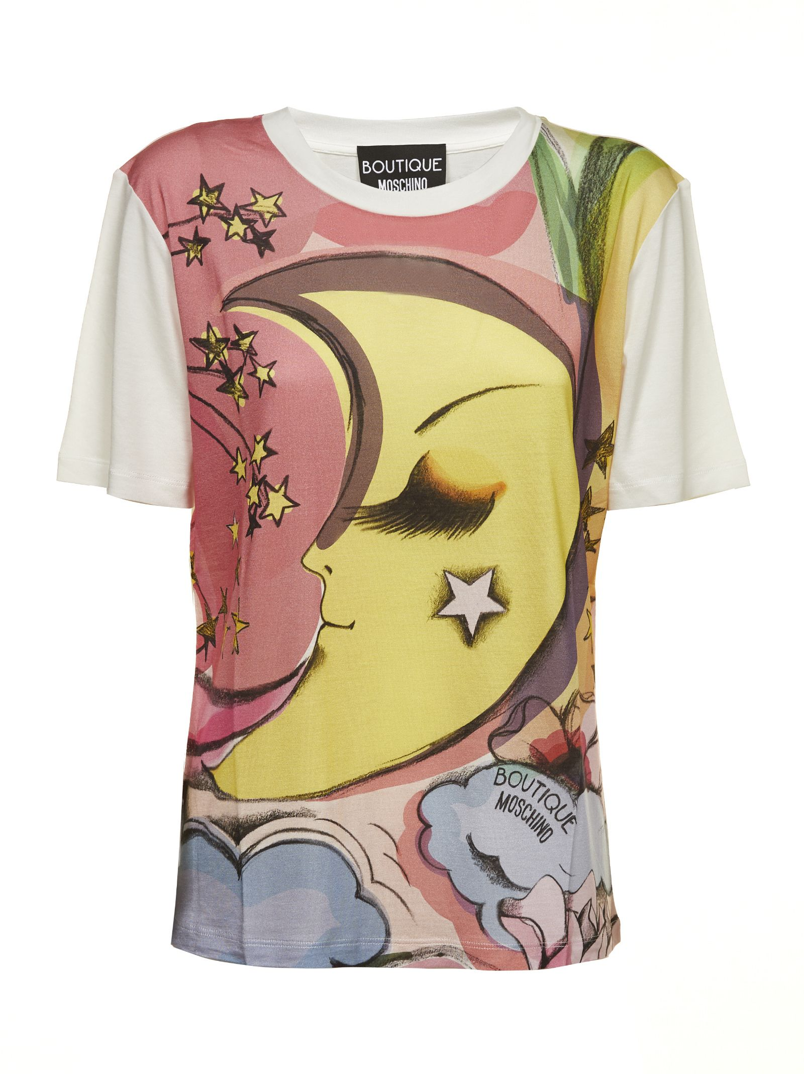 c43c92c78de2a italist | Best price in the market for Moschino Moschino Moon Print ...
