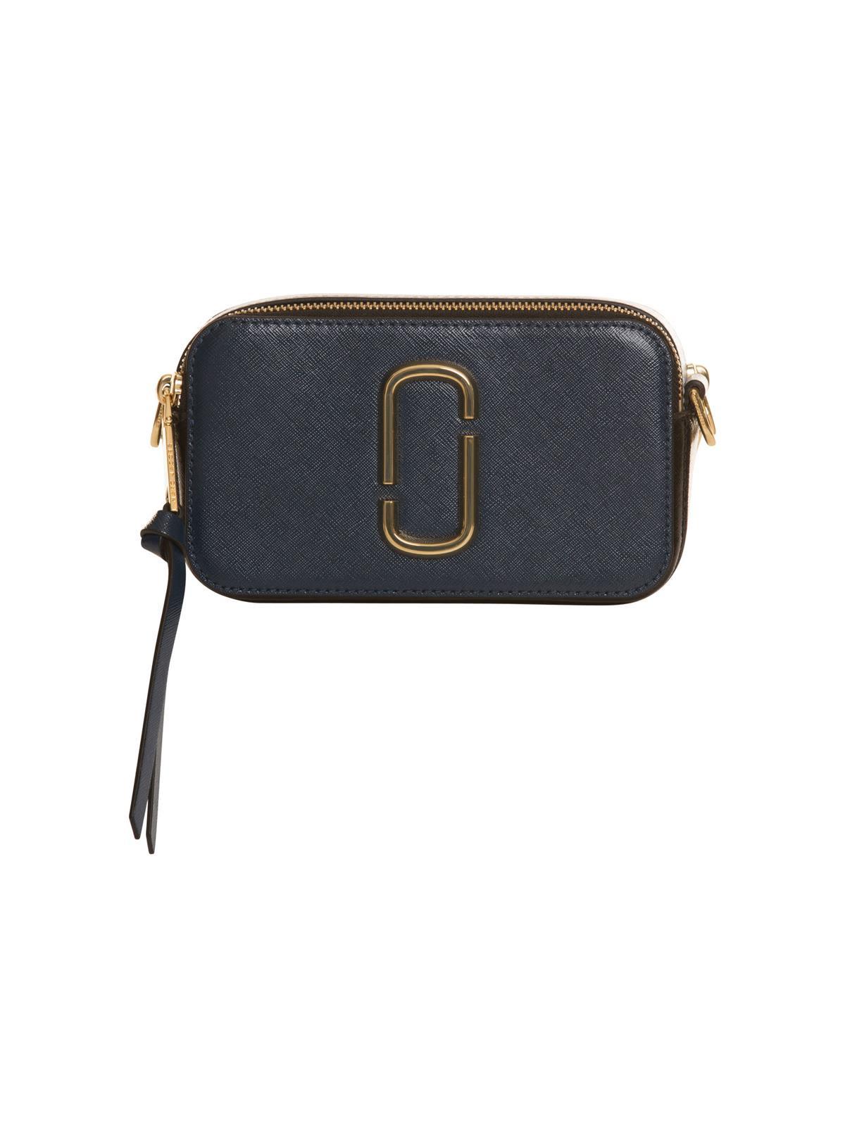 4ae45fb87b3f Marc Jacobs Logo Strap Snapshot Small Camera Bag In Black - Black ...