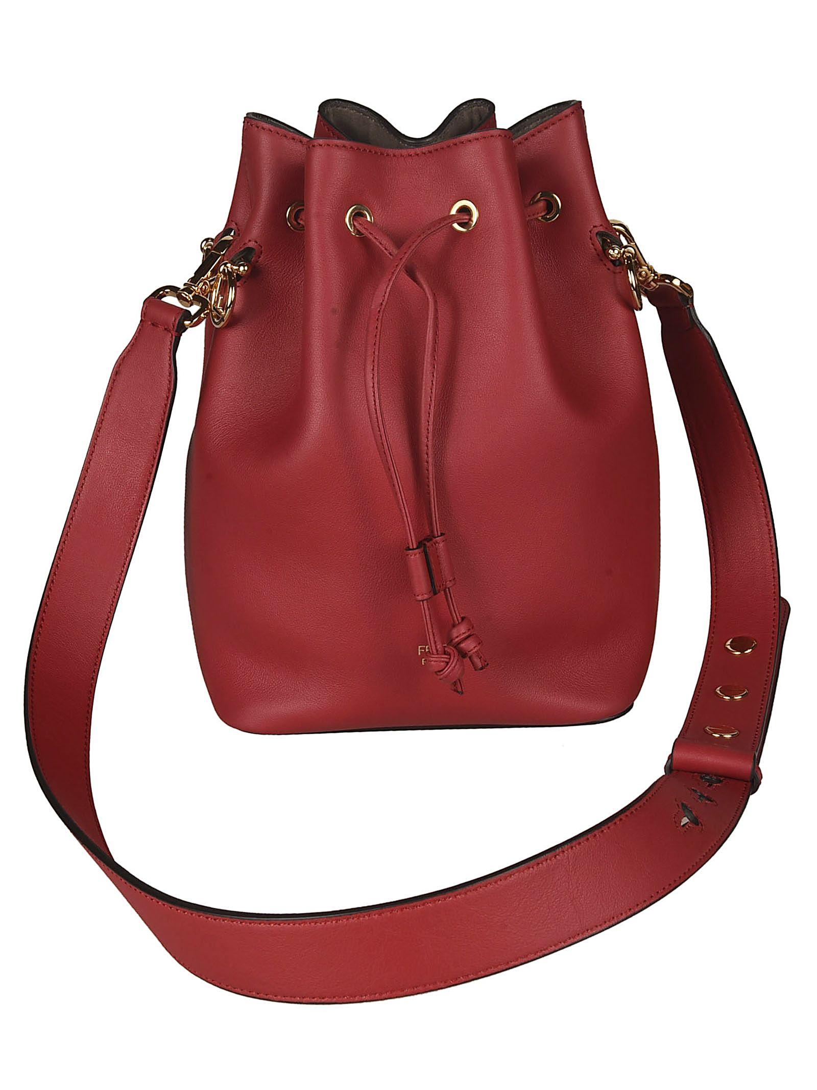 f659f6c96a57 Fendi Fendi Mon Tresor Bucket Bag - Red - 10808175