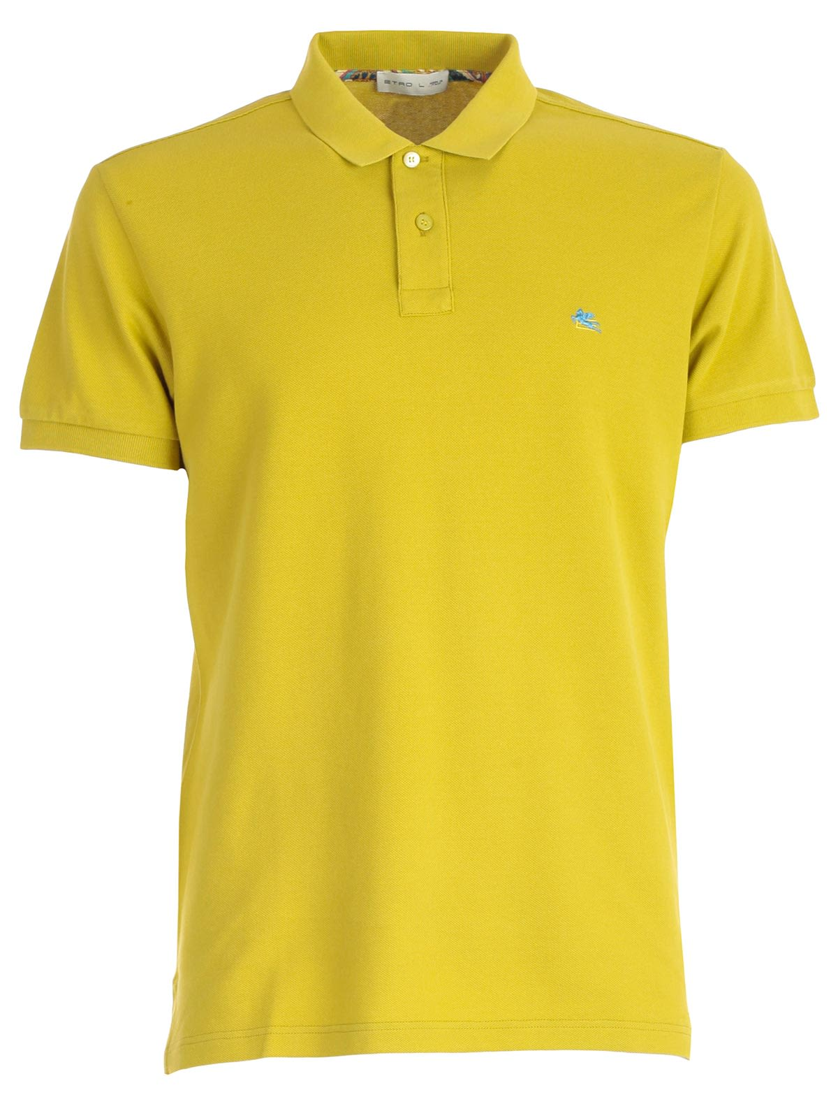 Etro Etro Embroidered Polo Shirt Giallo 10801546 Italist