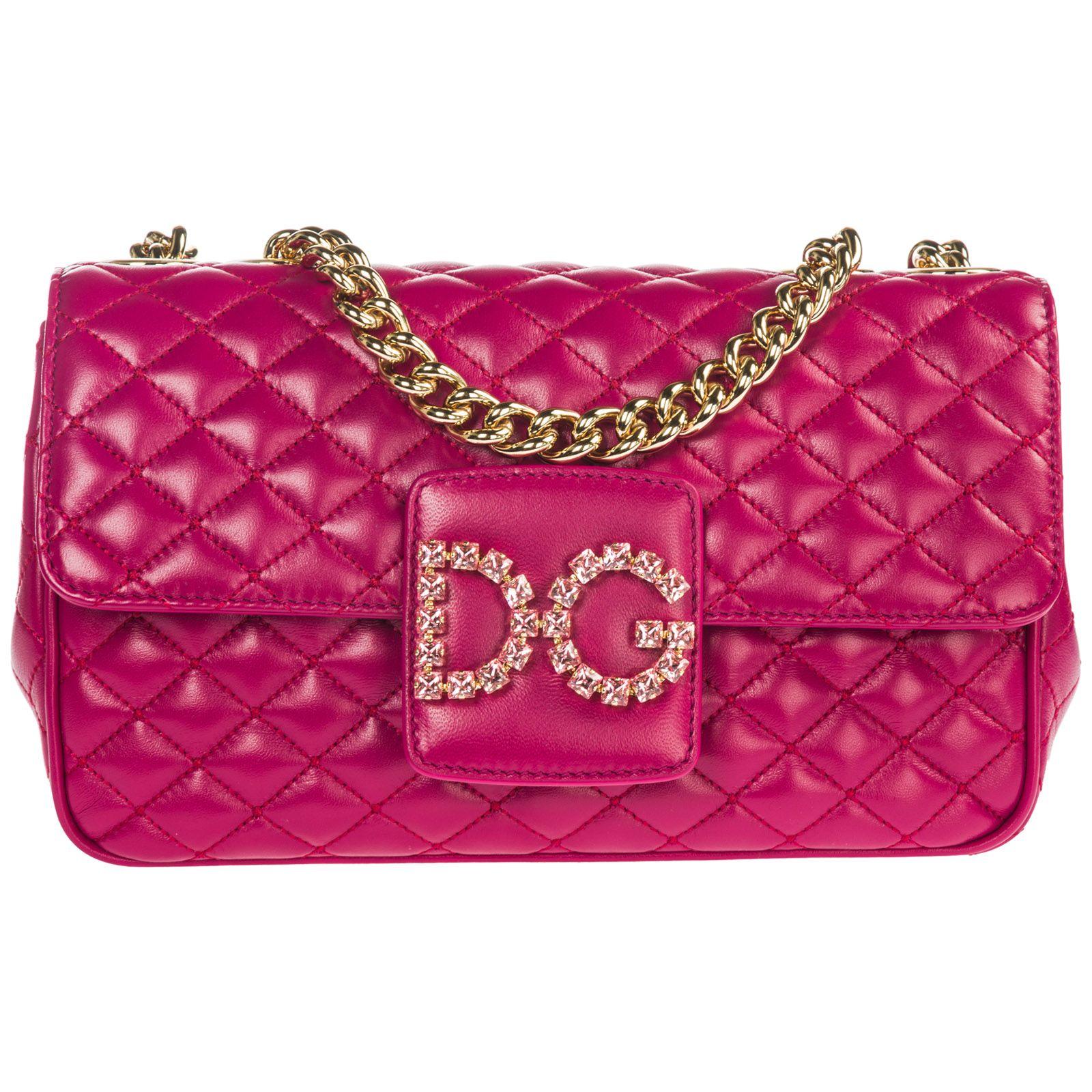 33d5c338dd7 Dolce & Gabbana Dolce & Gabbana Leather Shoulder Bag Dg Millennials ...
