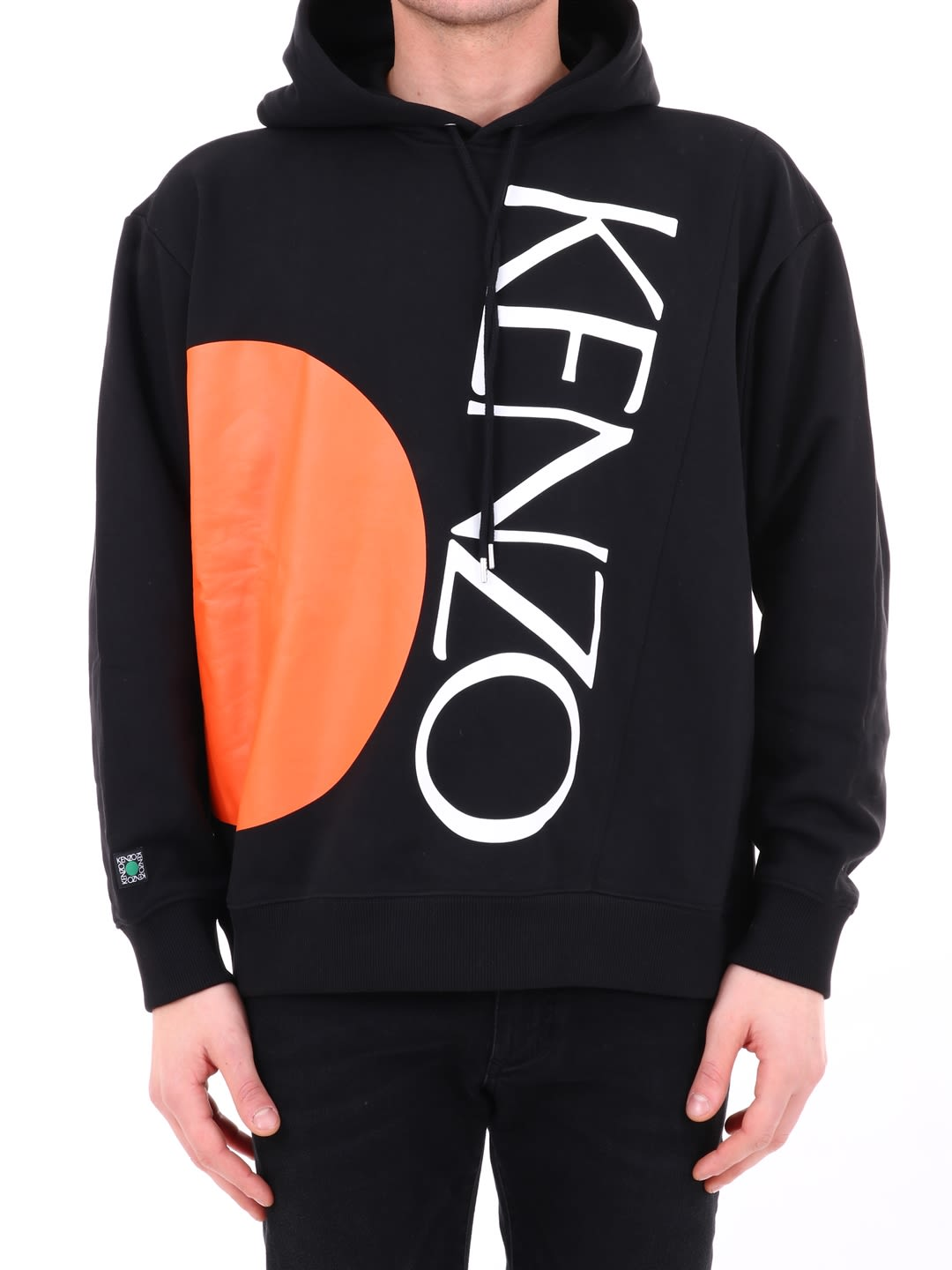 408e14a89 Kenzo Kenzo Black Hooded Sweatshirt - Black - 10812957 | italist