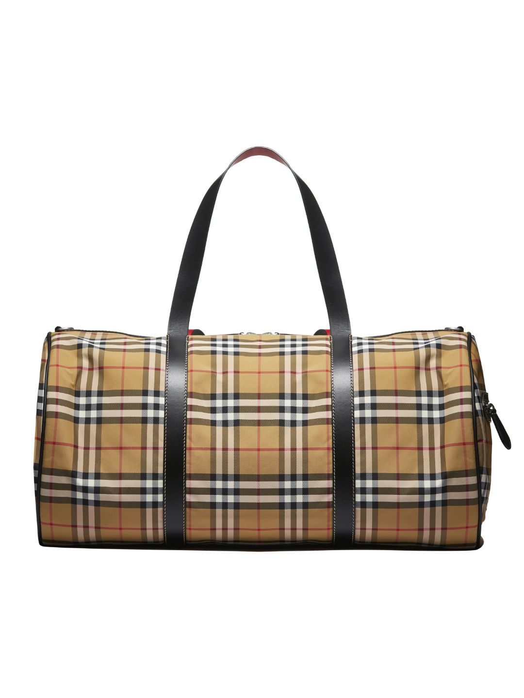 42d458e0a809 Burberry Burberry Vintage Check Holdall - Basic - 10797462