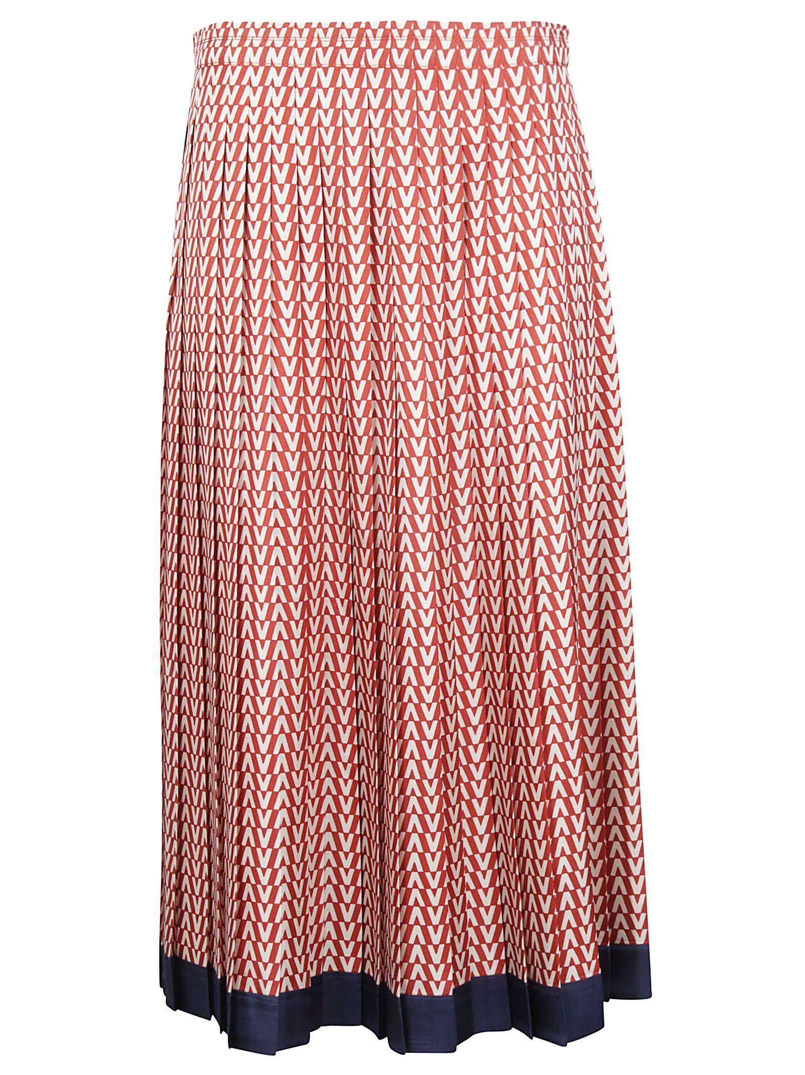 Valentino Skirts Valentino Optical V Skirt