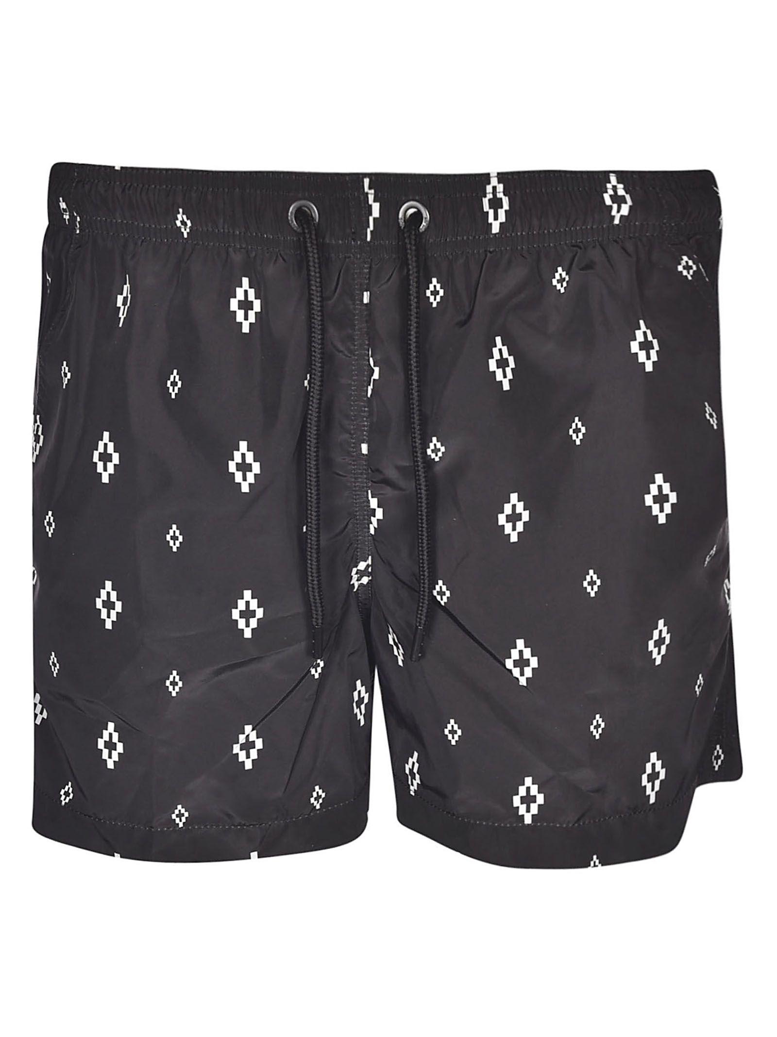 565287d775 Marcelo Burlon Marcelo Burlon Logo Swim Shorts - Basic - 10836682 ...