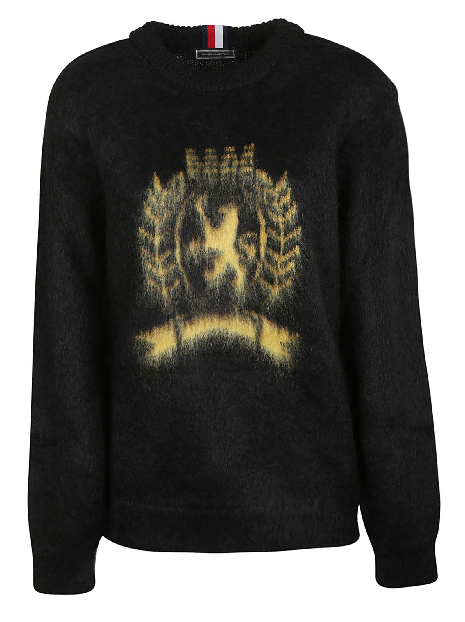 53a82137 Tommy Hilfiger Tommy Hilfiger Hc Crest Sweatshirt - Jet Black ...