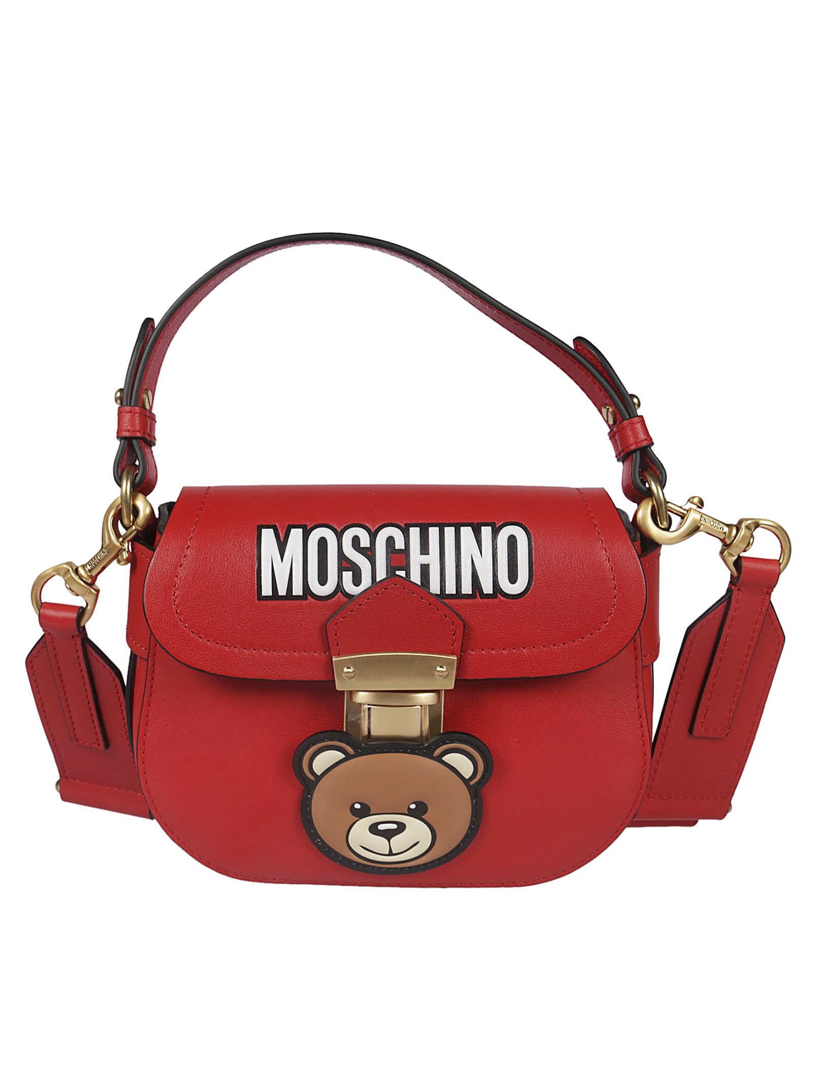 626315016d Moschino Moschino Teddy Bear Shoulder Bag - red - 10818446 | italist