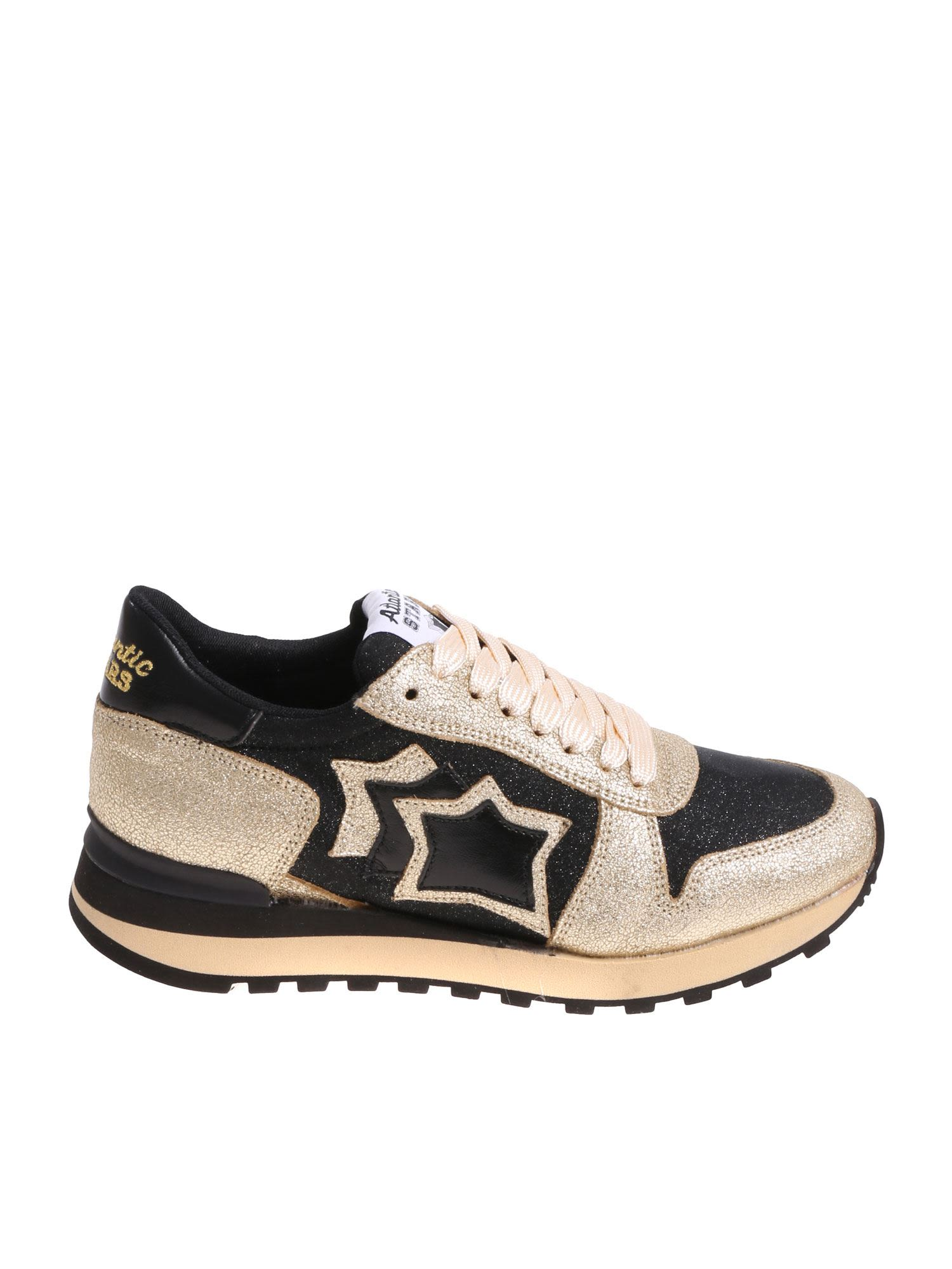 cd4355f185908d Atlantic Stars Atlantic Stars Alhena Sneakers - Black Gold ...