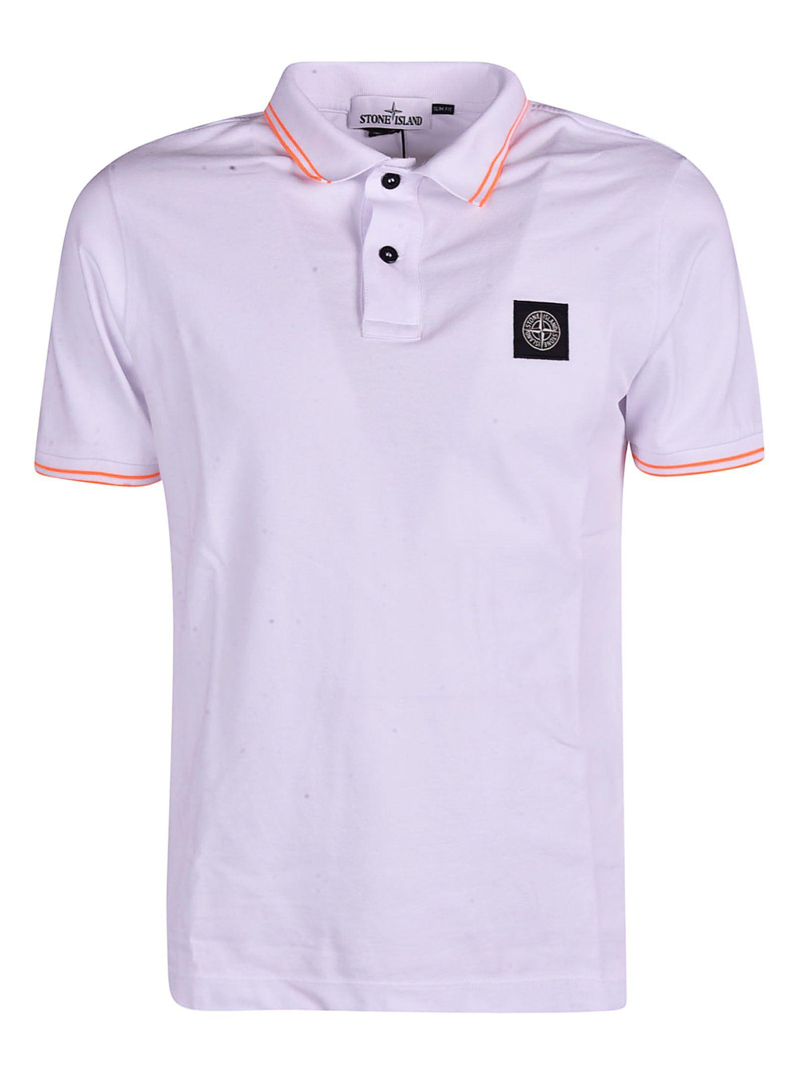 7786226d659 Stone Island Stone Island Logo Polo Shirt - Bianco - 10858658 | italist