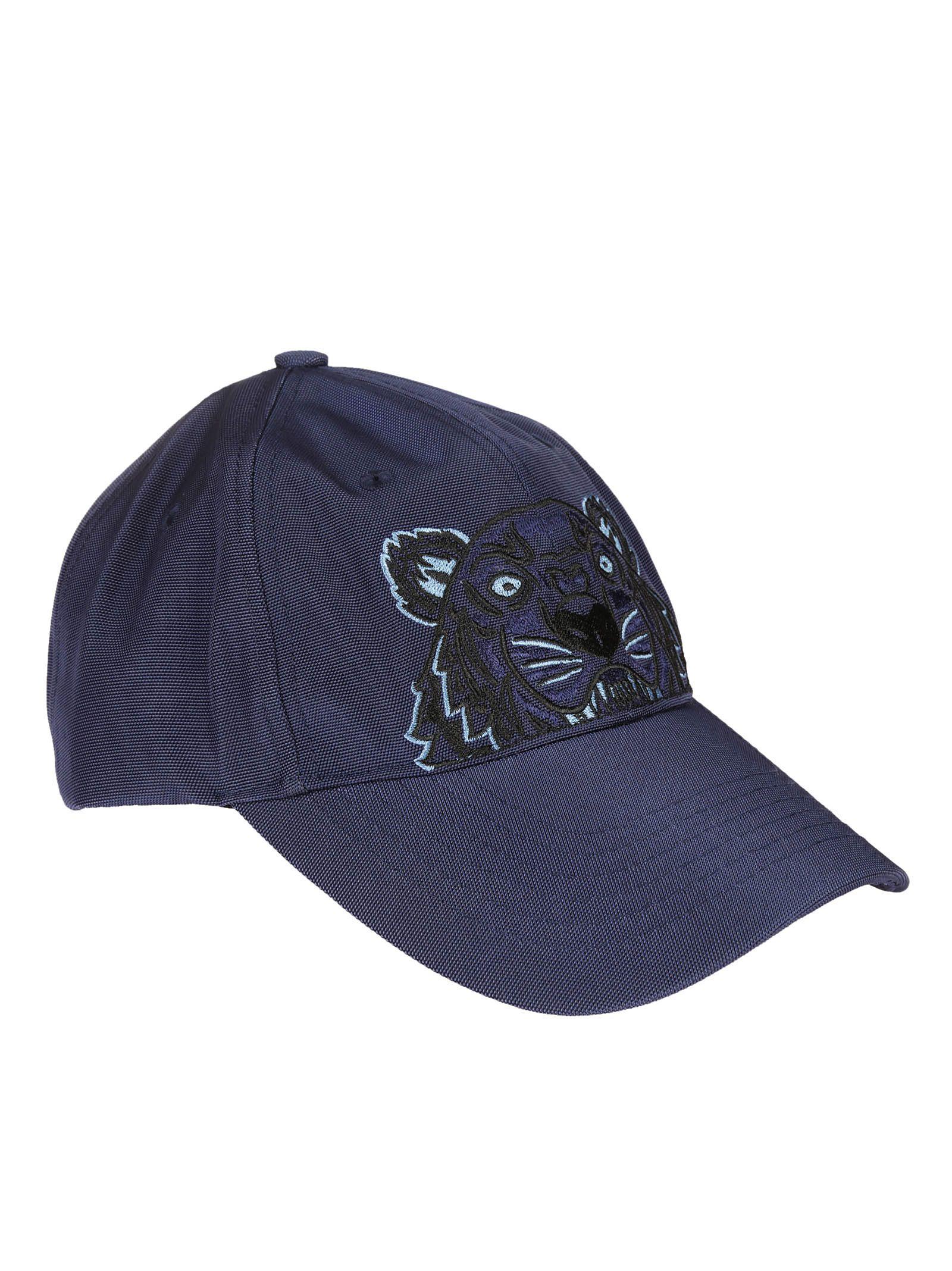 Kenzo Kenzo Tiger Canvas Cap - Blue - 8136644  338080215e7