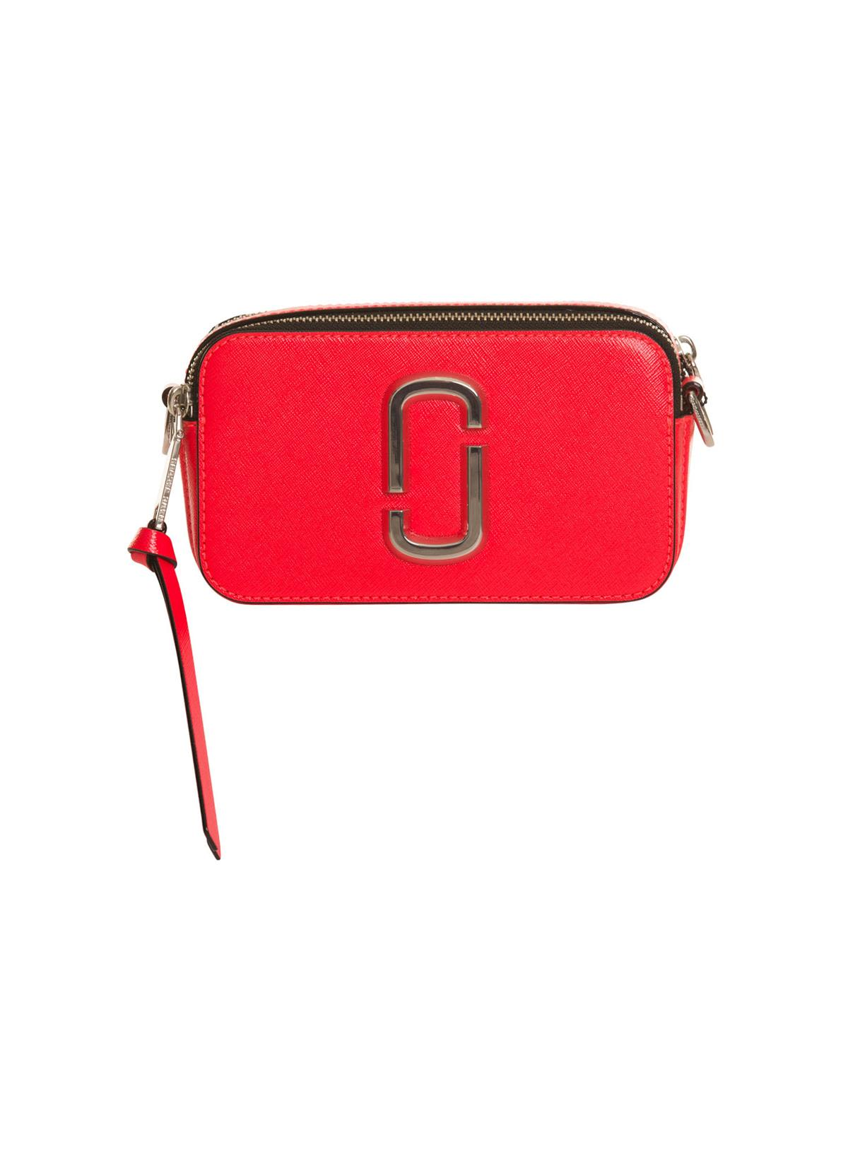 34609671ef Marc Jacobs Marc Jacobs Fluorescent Snapshot Small Camera Bag In Red ...