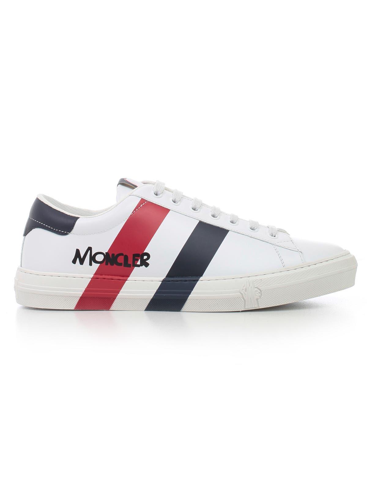 647cc99e940 Moncler Moncler Striped Low Top Sneakers - Multicolor - 10916822 ...